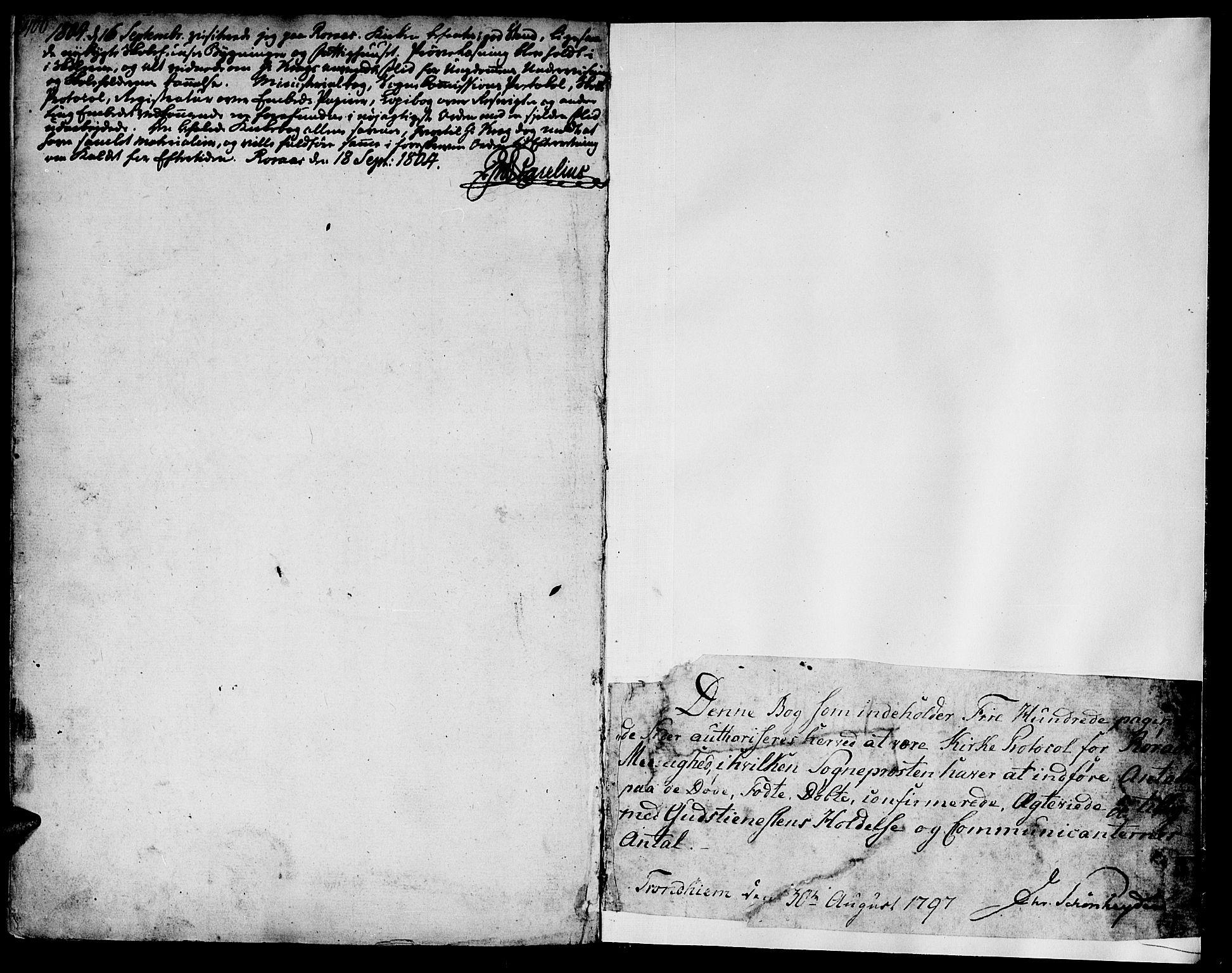 SAT, Ministerialprotokoller, klokkerbøker og fødselsregistre - Sør-Trøndelag, 681/L0927: Ministerialbok nr. 681A05, 1798-1808, s. 400-401