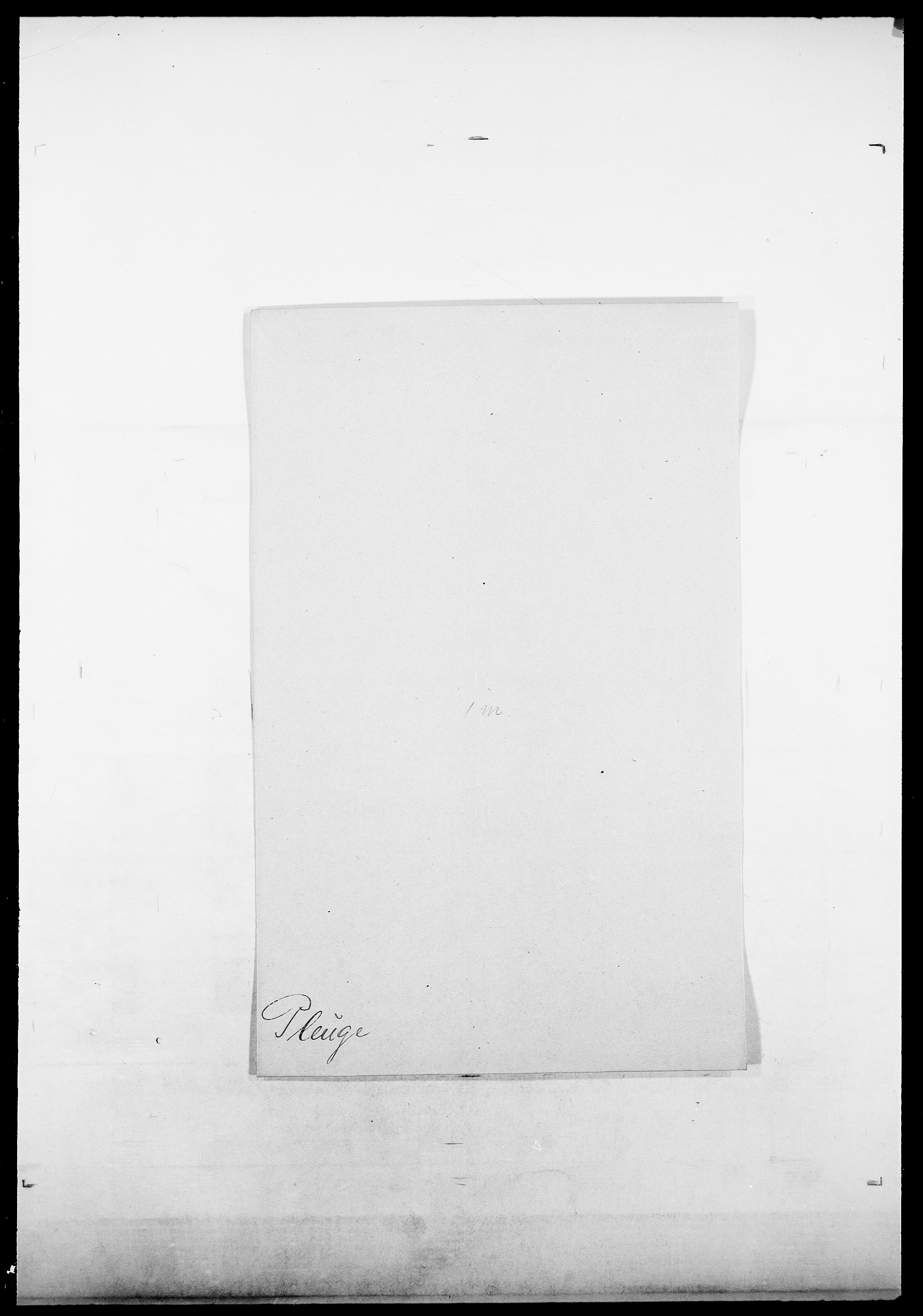SAO, Delgobe, Charles Antoine - samling, D/Da/L0031: de Place - Raaum, s. 123