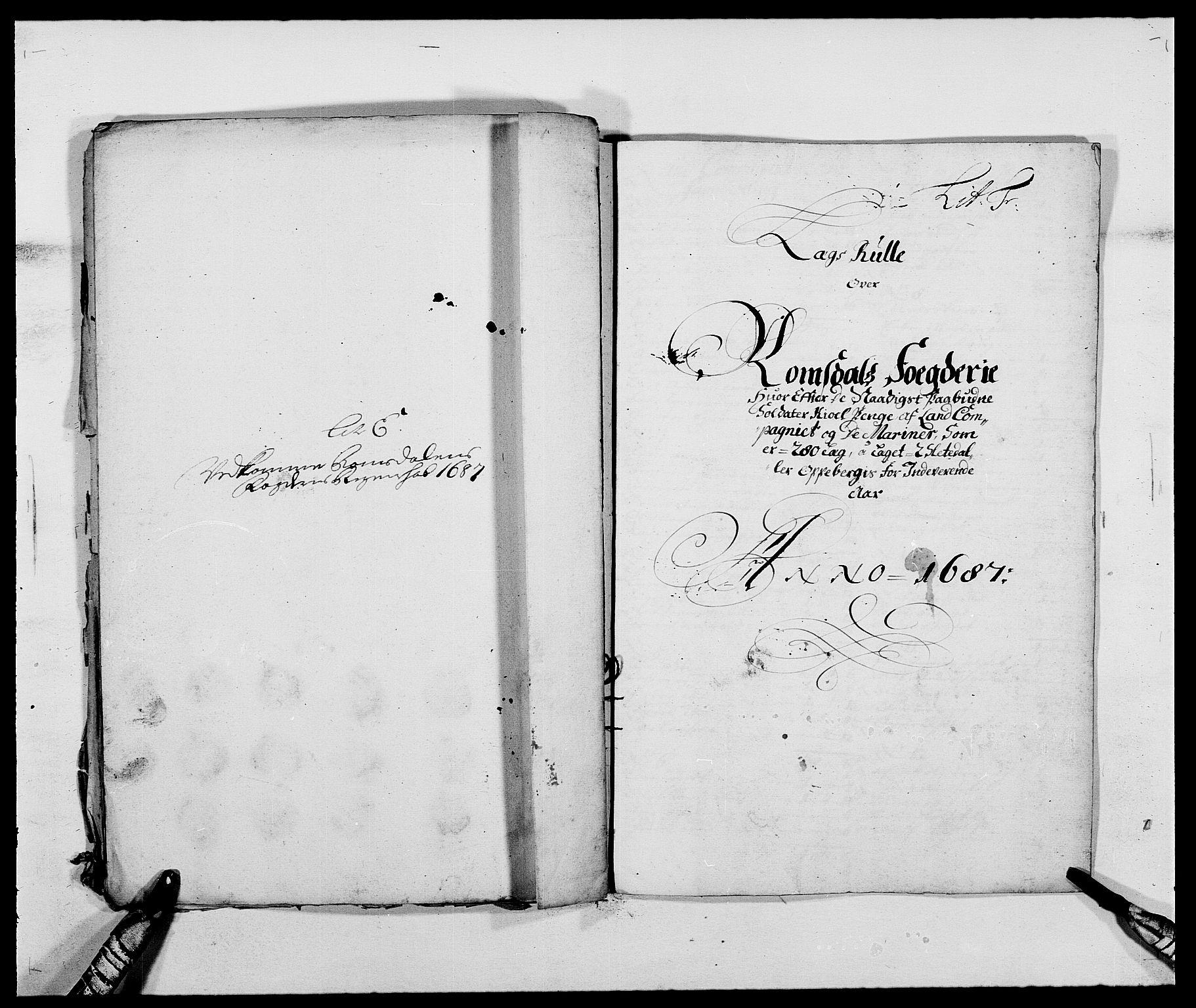 RA, Rentekammeret inntil 1814, Reviderte regnskaper, Fogderegnskap, R55/L3648: Fogderegnskap Romsdal, 1687-1689, s. 80
