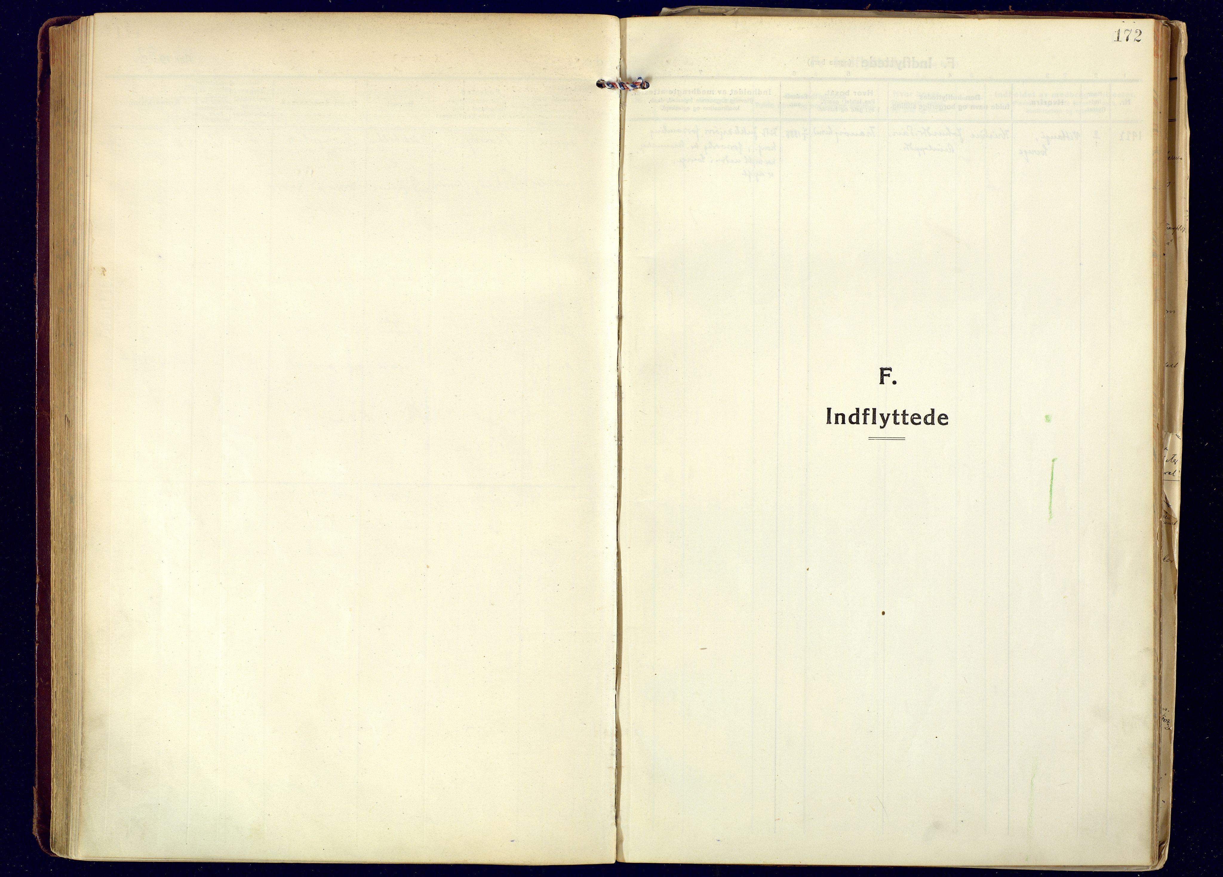 SATØ, Tranøy sokneprestkontor, I/Ia/Iaa: Ministerialbok nr. 16, 1919-1932, s. 172