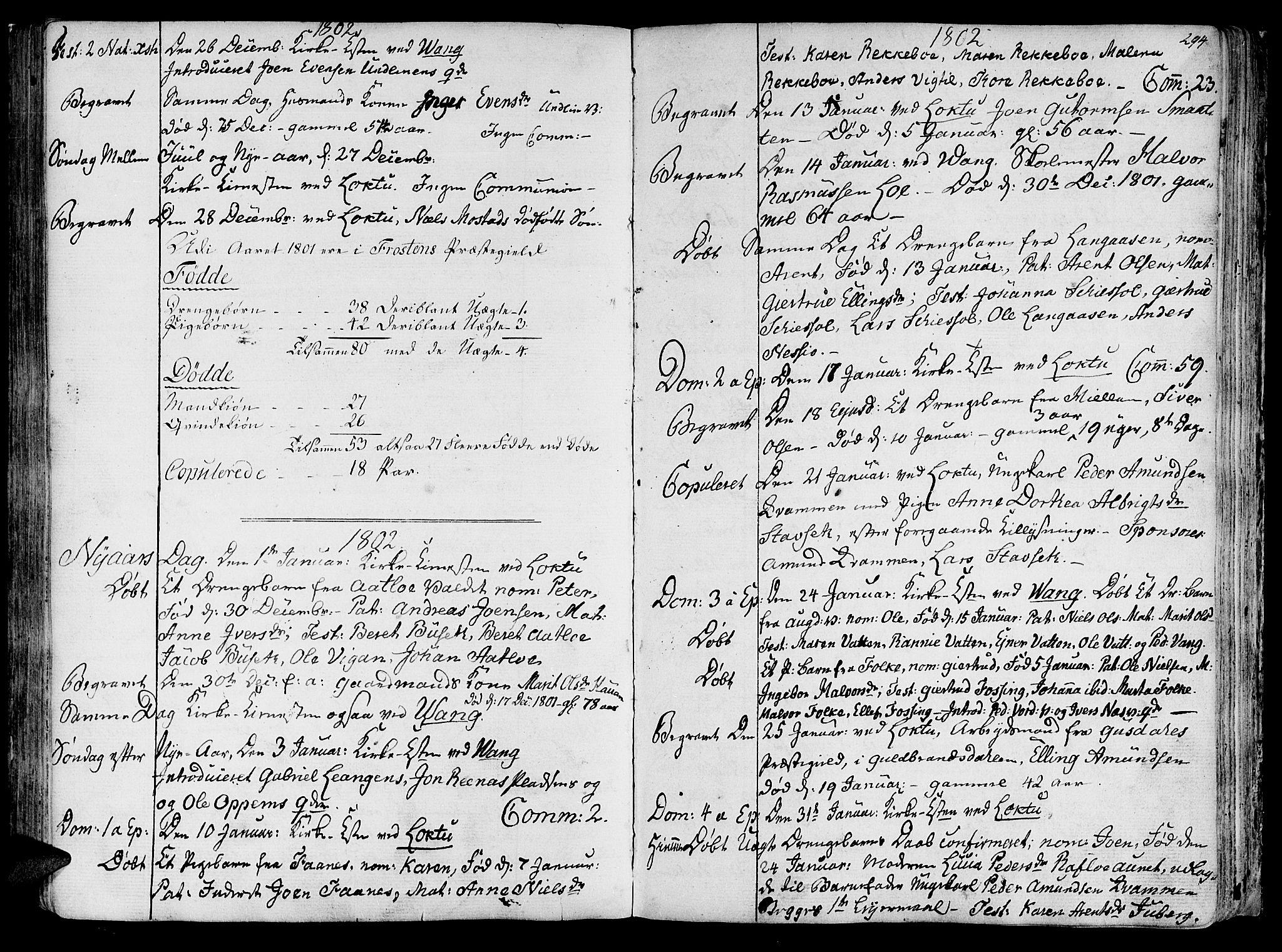 SAT, Ministerialprotokoller, klokkerbøker og fødselsregistre - Nord-Trøndelag, 713/L0110: Ministerialbok nr. 713A02, 1778-1811, s. 293-294