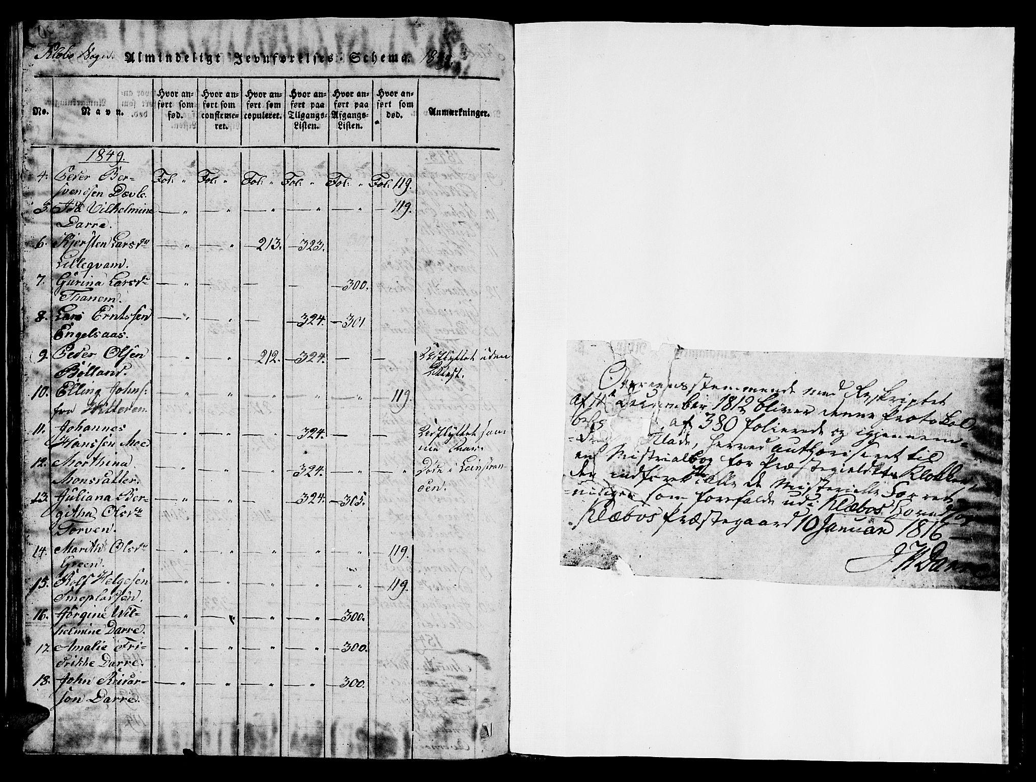 SAT, Ministerialprotokoller, klokkerbøker og fødselsregistre - Sør-Trøndelag, 618/L0450: Klokkerbok nr. 618C01, 1816-1865