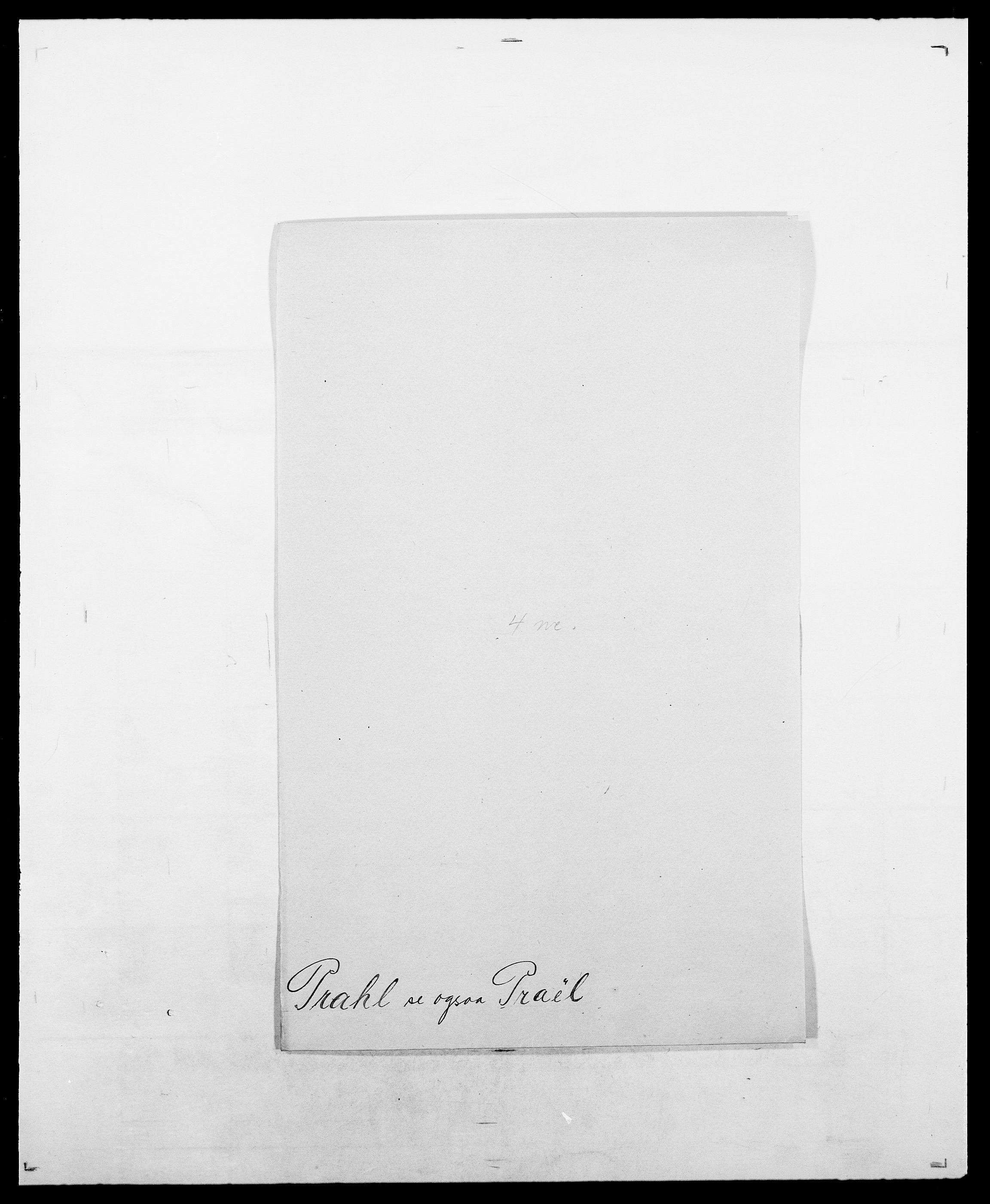 SAO, Delgobe, Charles Antoine - samling, D/Da/L0031: de Place - Raaum, s. 280