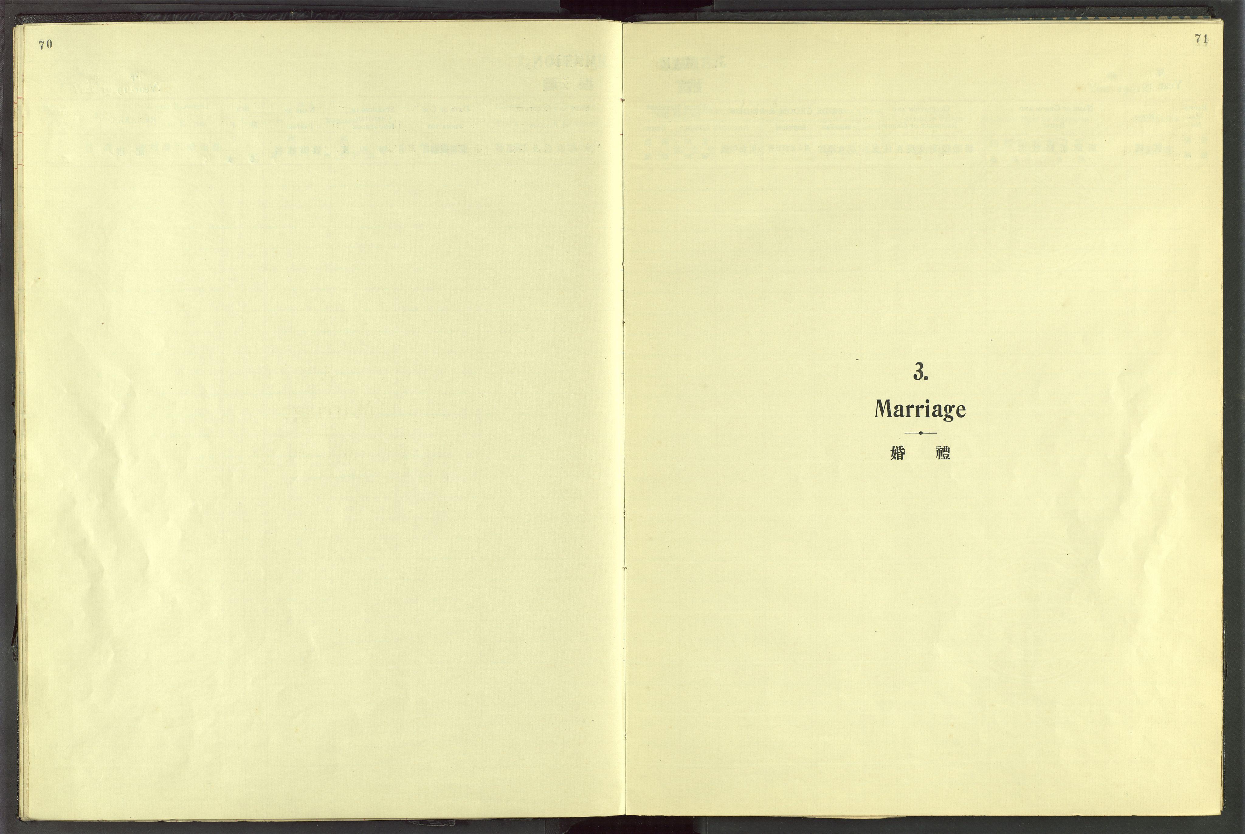 VID, Det Norske Misjonsselskap - utland - Kina (Hunan), Dm/L0072: Ministerialbok nr. 110, 1911-1948, s. 70-71