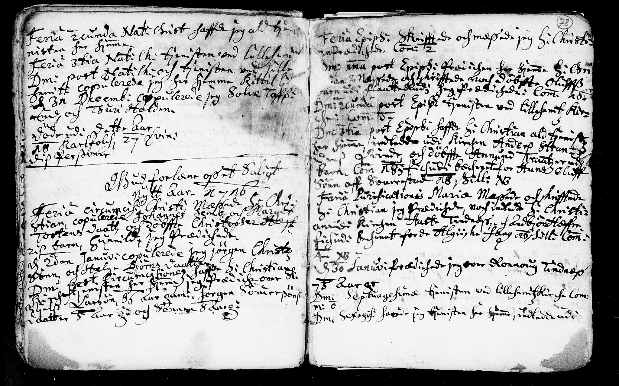 SAKO, Heddal kirkebøker, F/Fa/L0002: Ministerialbok nr. I 2, 1699-1722, s. 78