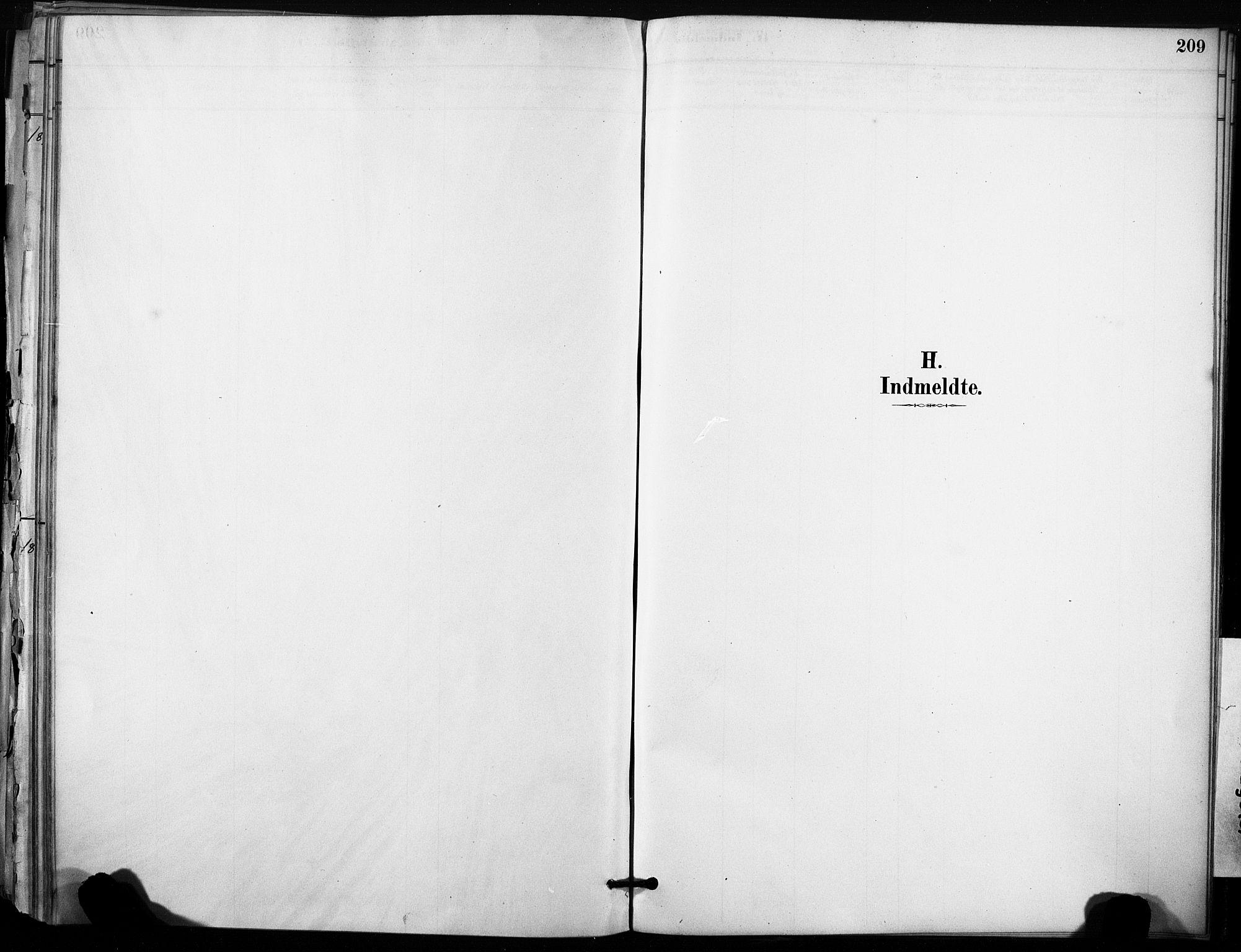 SAT, Ministerialprotokoller, klokkerbøker og fødselsregistre - Sør-Trøndelag, 633/L0518: Ministerialbok nr. 633A01, 1884-1906, s. 209