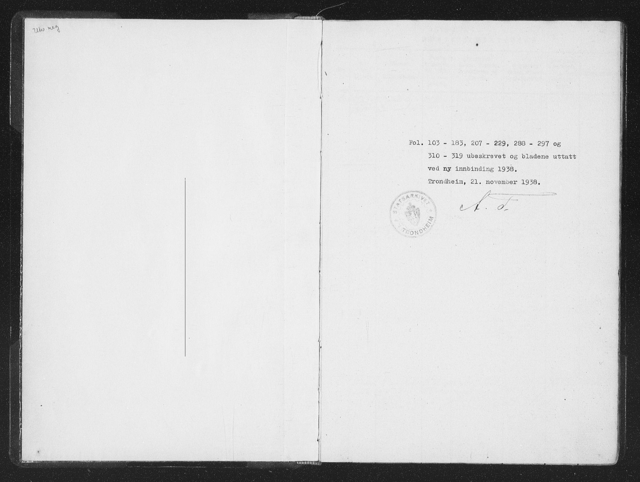 SAT, Ministerialprotokoller, klokkerbøker og fødselsregistre - Sør-Trøndelag, 659/L0734: Ministerialbok nr. 659A04, 1818-1825