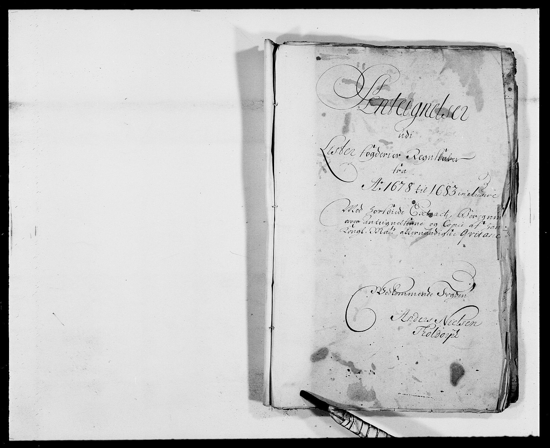 RA, Rentekammeret inntil 1814, Reviderte regnskaper, Fogderegnskap, R41/L2532: Fogderegnskap Lista, 1683, s. 191