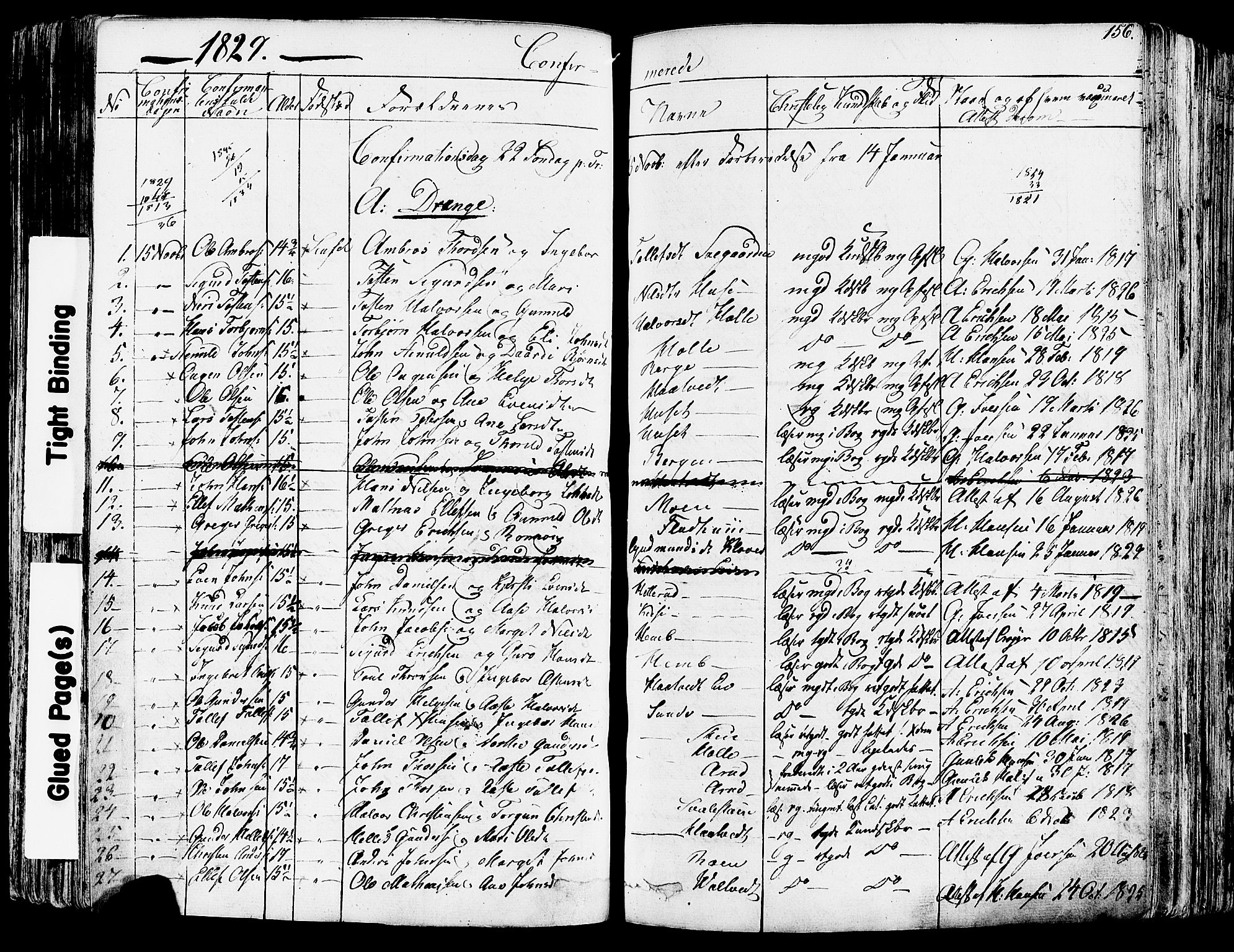 SAKO, Sauherad kirkebøker, F/Fa/L0006: Ministerialbok nr. I 6, 1827-1850, s. 156