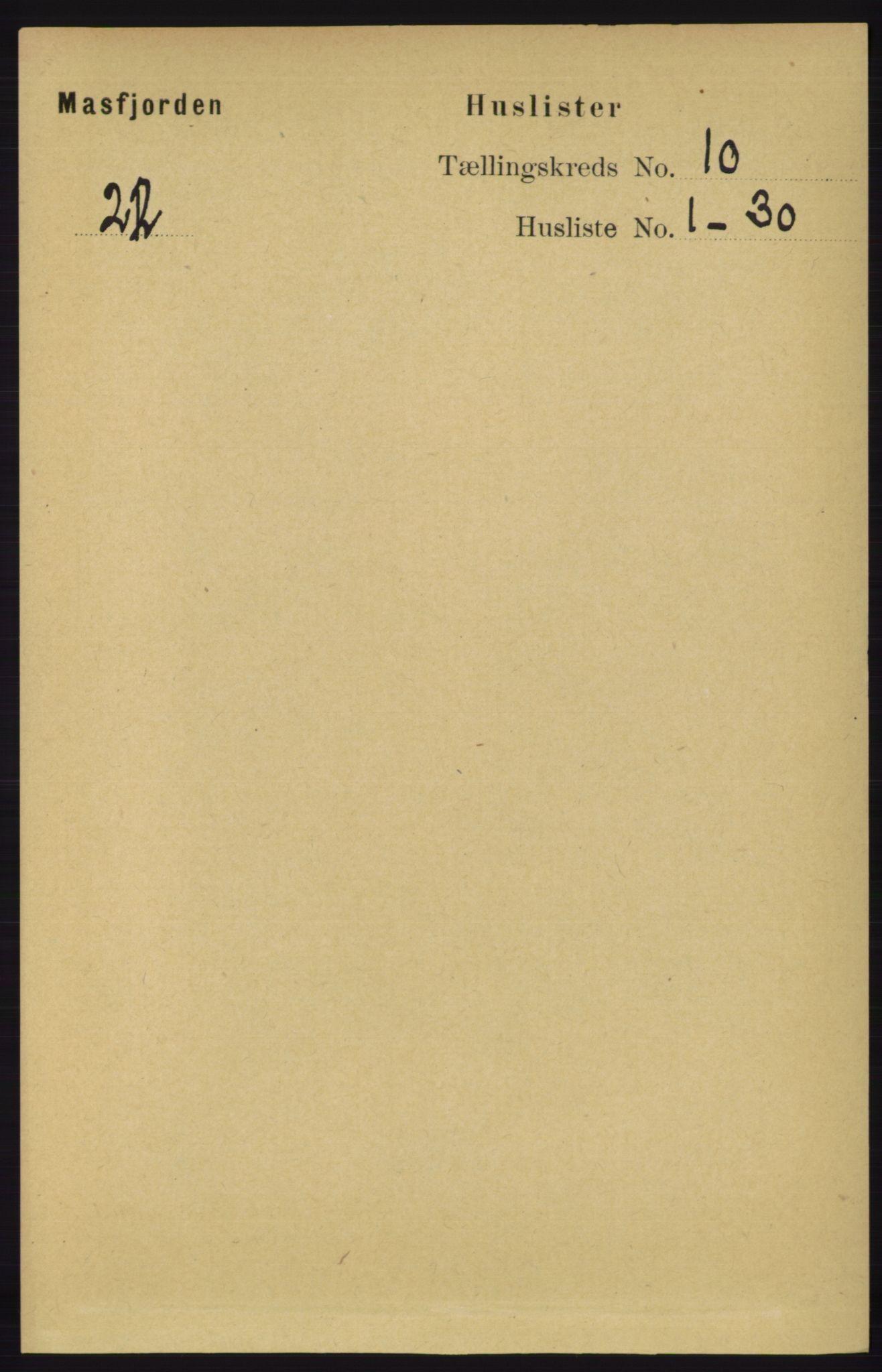 RA, Folketelling 1891 for 1266 Masfjorden herred, 1891, s. 1970