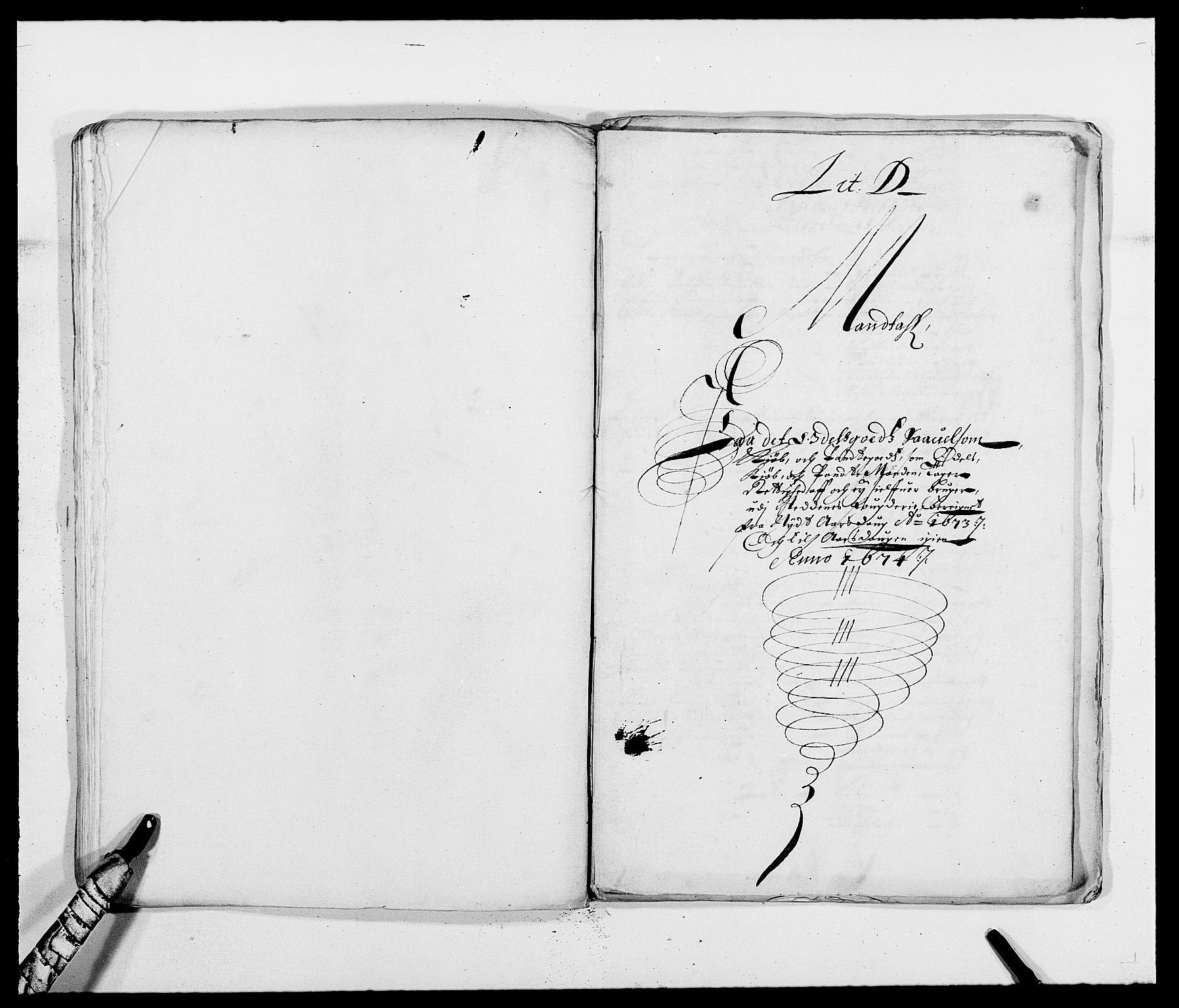 RA, Rentekammeret inntil 1814, Reviderte regnskaper, Fogderegnskap, R39/L2300: Fogderegnskap Nedenes, 1672-1674, s. 198