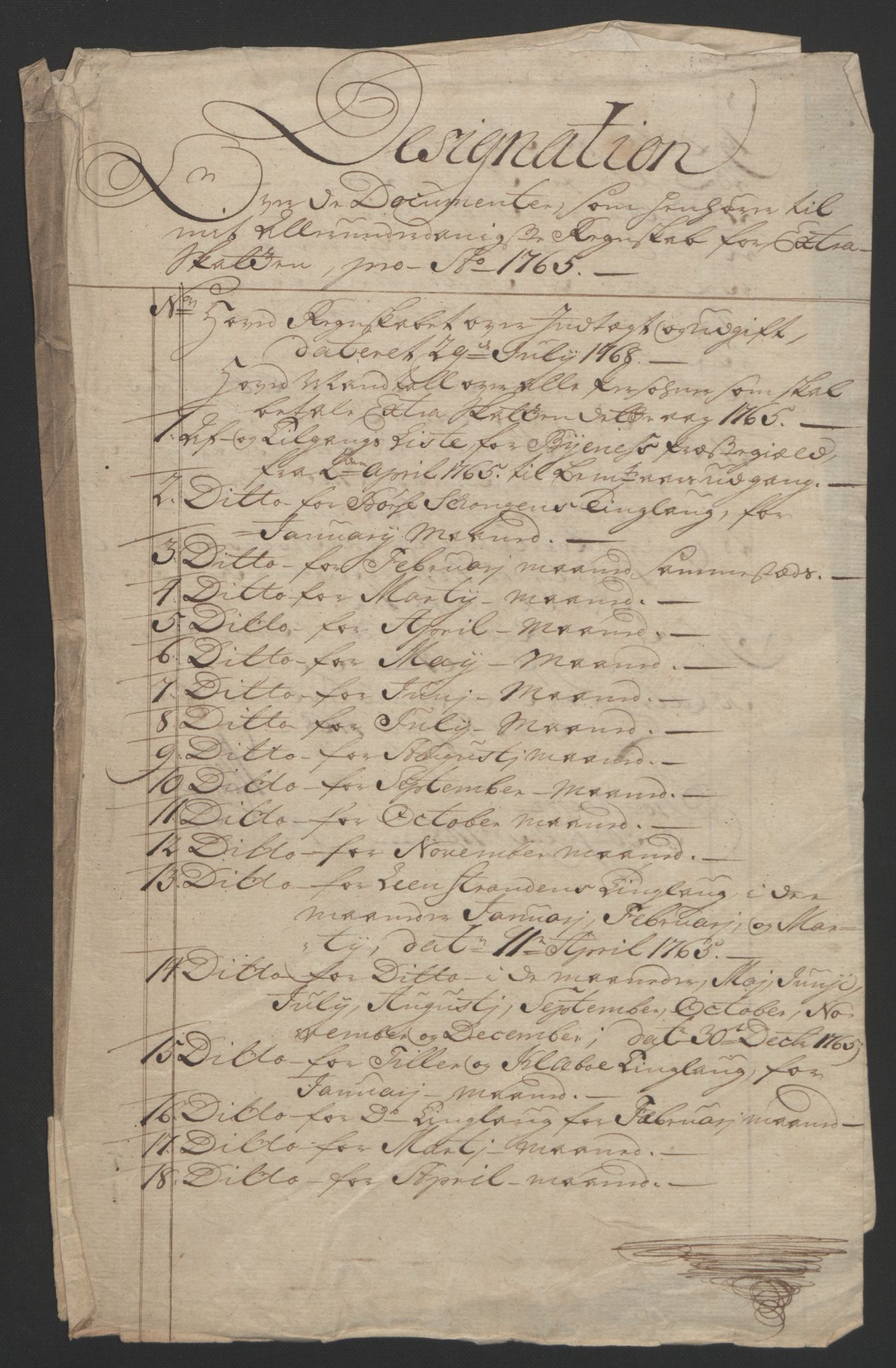RA, Rentekammeret inntil 1814, Reviderte regnskaper, Fogderegnskap, R61/L4180: Ekstraskatten Strinda og Selbu, 1762-1767, s. 87