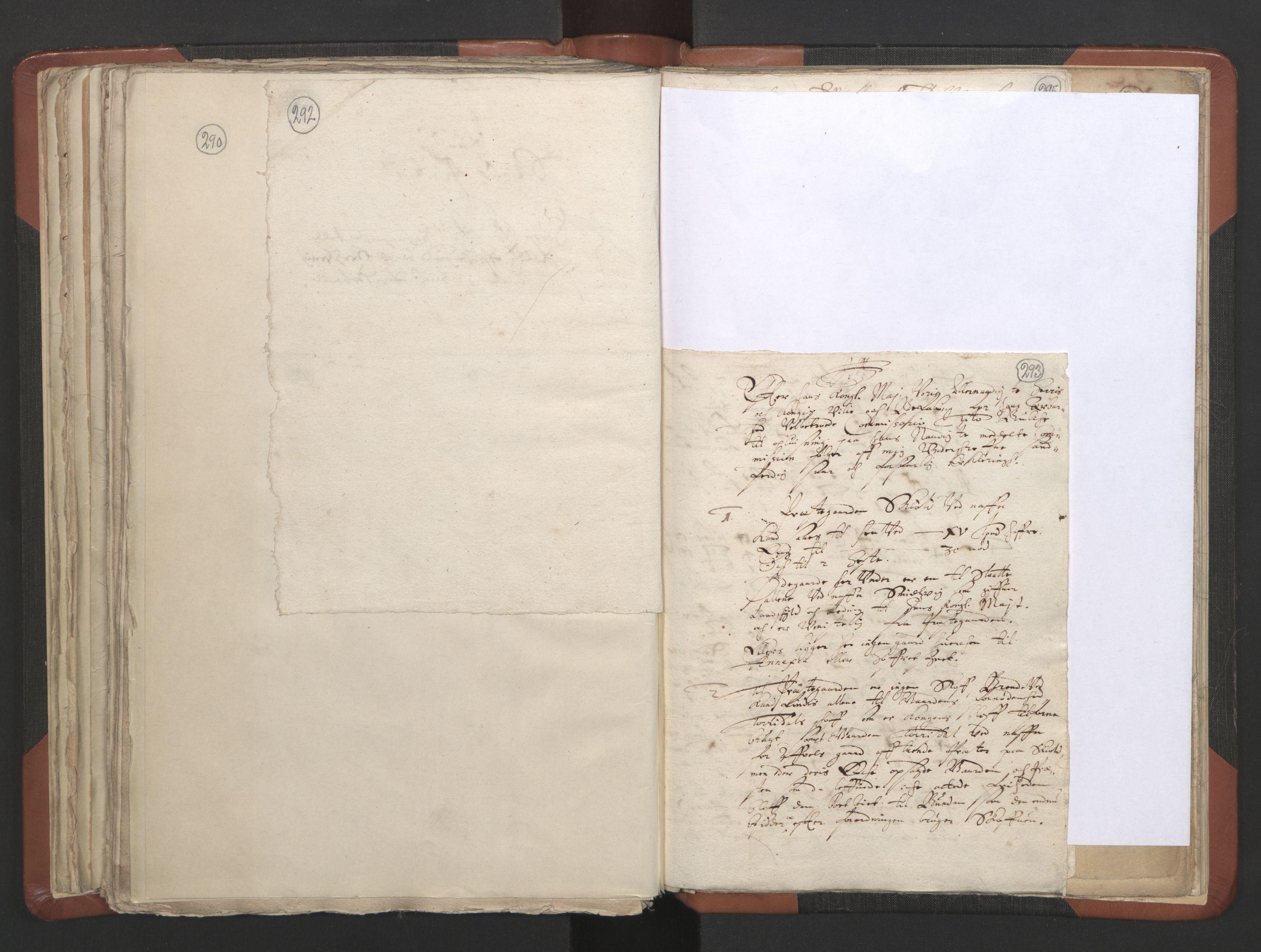 RA, Sogneprestenes manntall 1664-1666, nr. 19: Ryfylke prosti, 1664-1666, s. 292-293