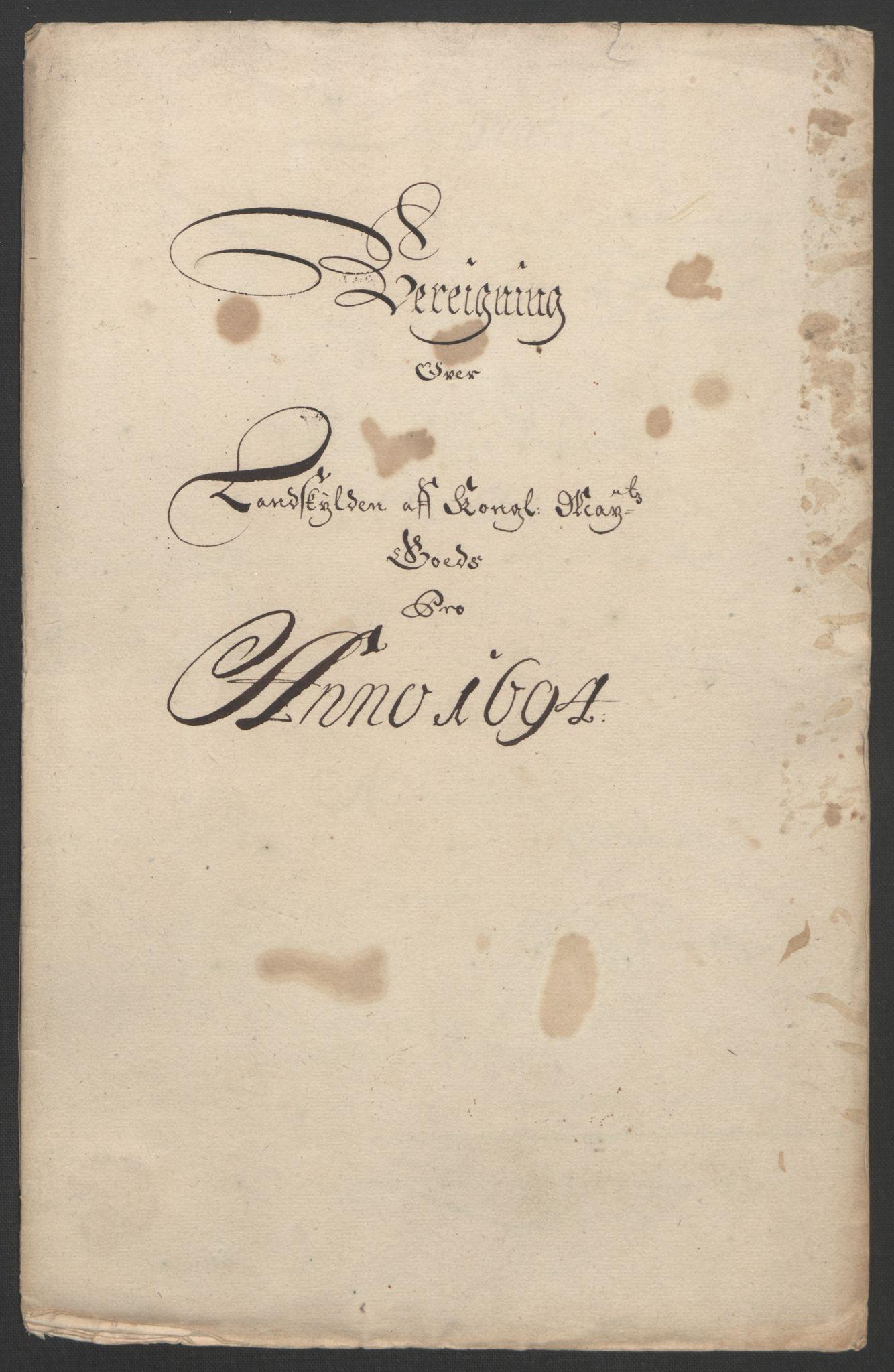 RA, Rentekammeret inntil 1814, Reviderte regnskaper, Fogderegnskap, R22/L1451: Fogderegnskap Ringerike, Hallingdal og Buskerud, 1694, s. 15