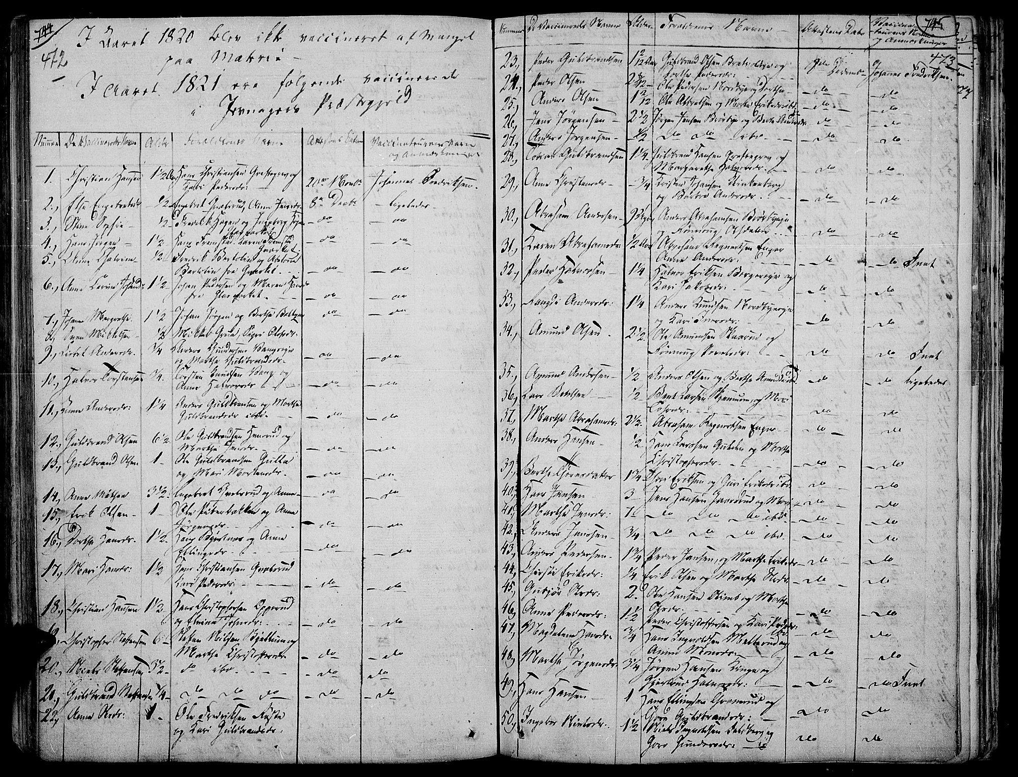 SAH, Jevnaker prestekontor, Ministerialbok nr. 4, 1800-1861, s. 472-473
