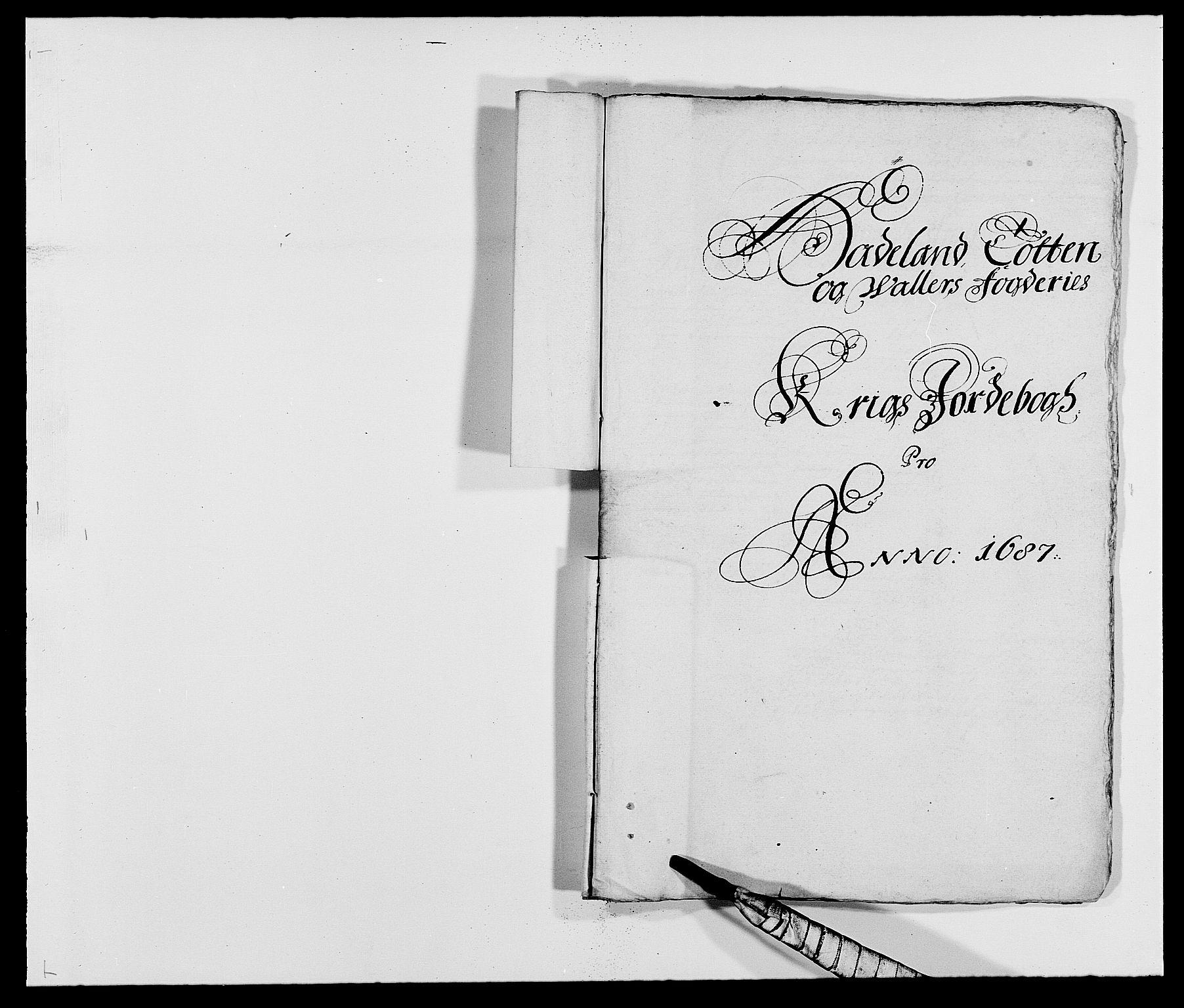 RA, Rentekammeret inntil 1814, Reviderte regnskaper, Fogderegnskap, R18/L1286: Fogderegnskap Hadeland, Toten og Valdres, 1687, s. 217