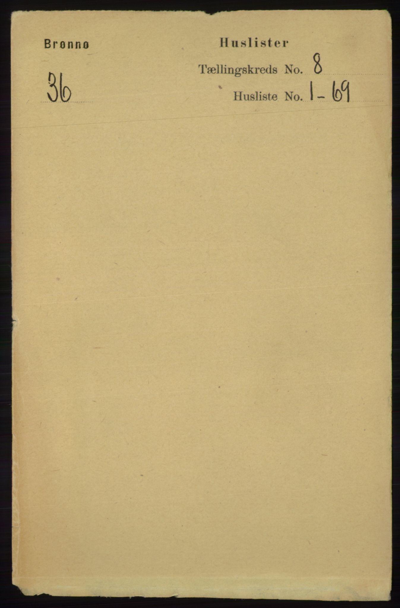 RA, Folketelling 1891 for 1814 Brønnøy herred, 1891, s. 4264