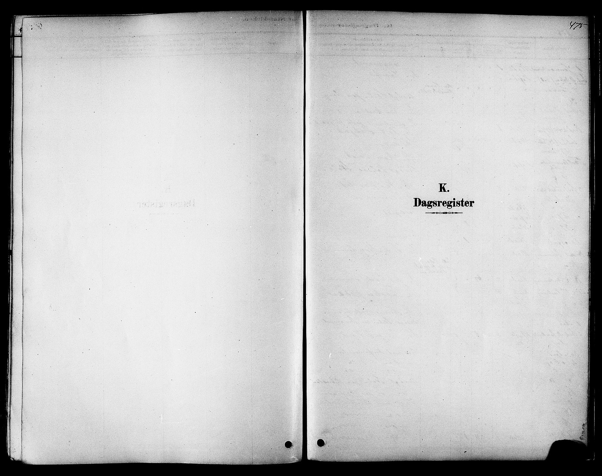 SAT, Ministerialprotokoller, klokkerbøker og fødselsregistre - Sør-Trøndelag, 606/L0294: Ministerialbok nr. 606A09, 1878-1886, s. 475