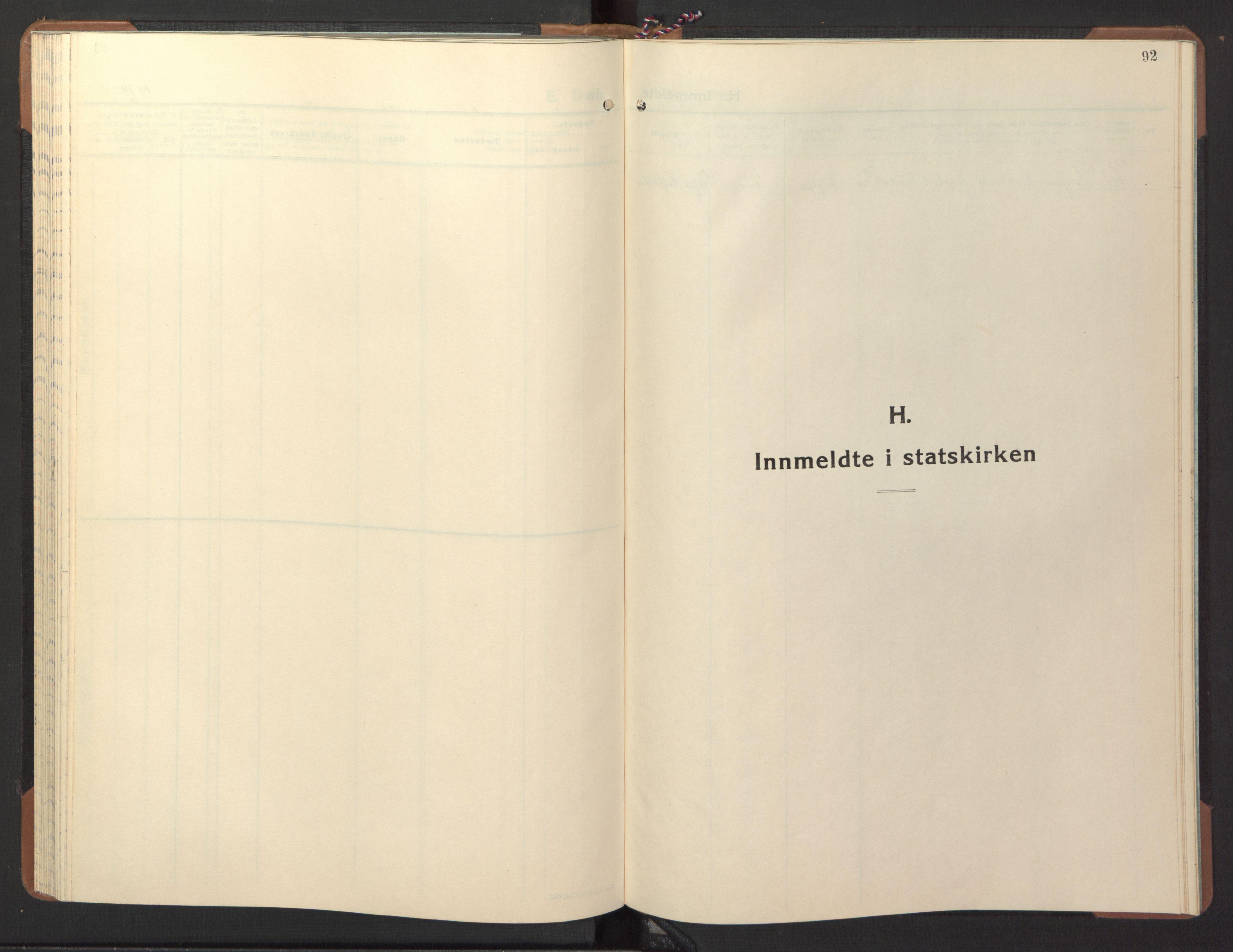 SAT, Ministerialprotokoller, klokkerbøker og fødselsregistre - Nord-Trøndelag, 746/L0456: Klokkerbok nr. 746C02, 1936-1948, s. 92
