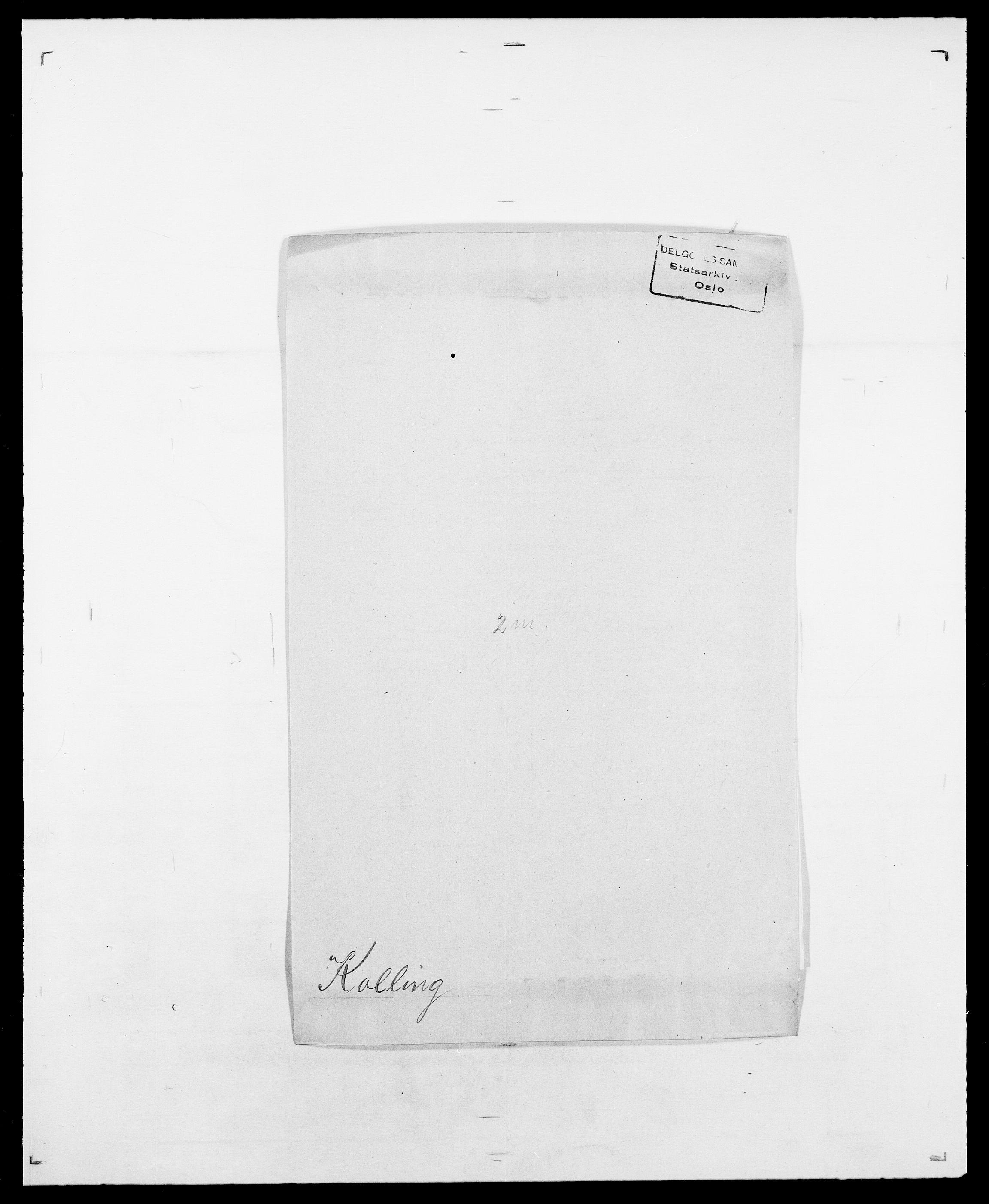 SAO, Delgobe, Charles Antoine - samling, D/Da/L0021: Klagenberg - Kristoft, s. 504
