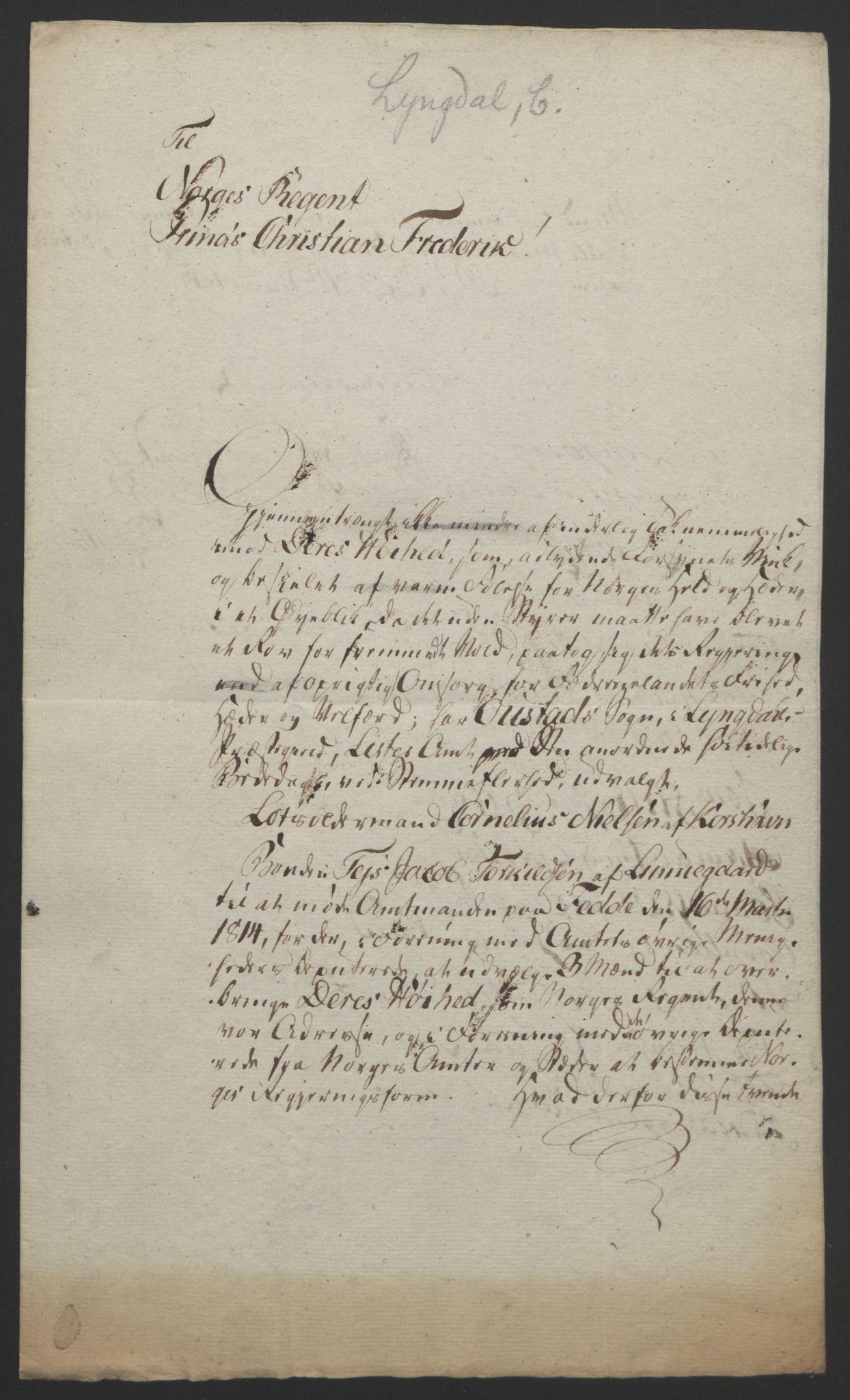 RA, Statsrådssekretariatet, D/Db/L0008: Fullmakter for Eidsvollsrepresentantene i 1814. , 1814, s. 172
