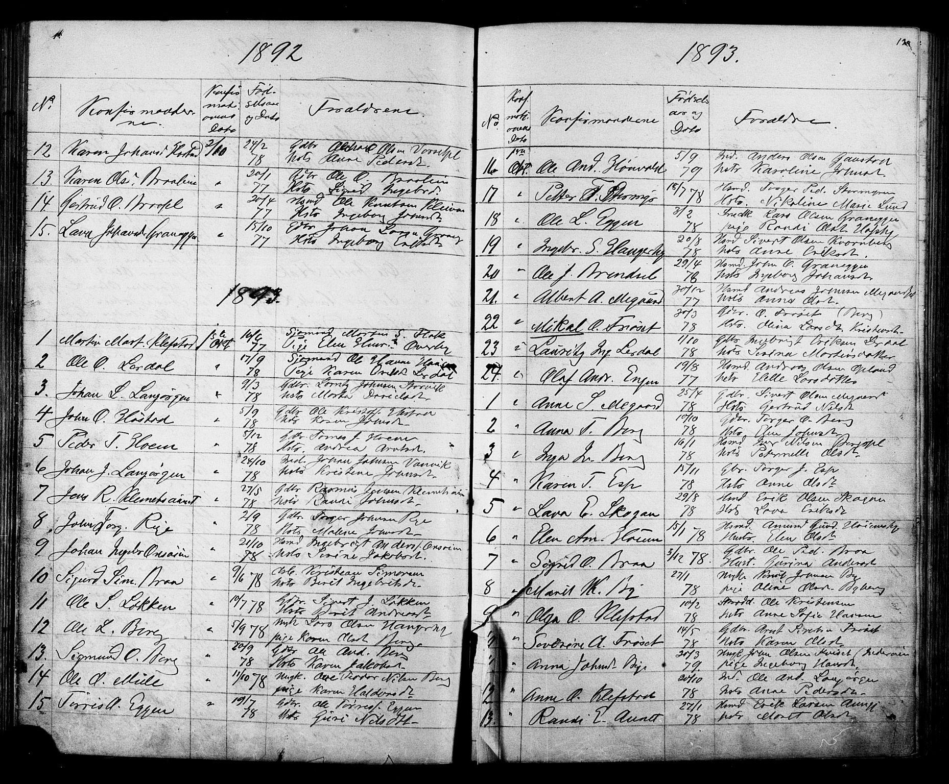 SAT, Ministerialprotokoller, klokkerbøker og fødselsregistre - Sør-Trøndelag, 612/L0387: Klokkerbok nr. 612C03, 1874-1908, s. 130