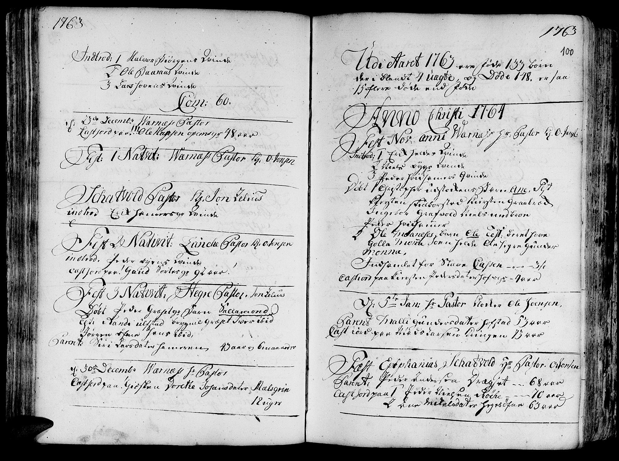 SAT, Ministerialprotokoller, klokkerbøker og fødselsregistre - Nord-Trøndelag, 709/L0057: Ministerialbok nr. 709A05, 1755-1780, s. 100