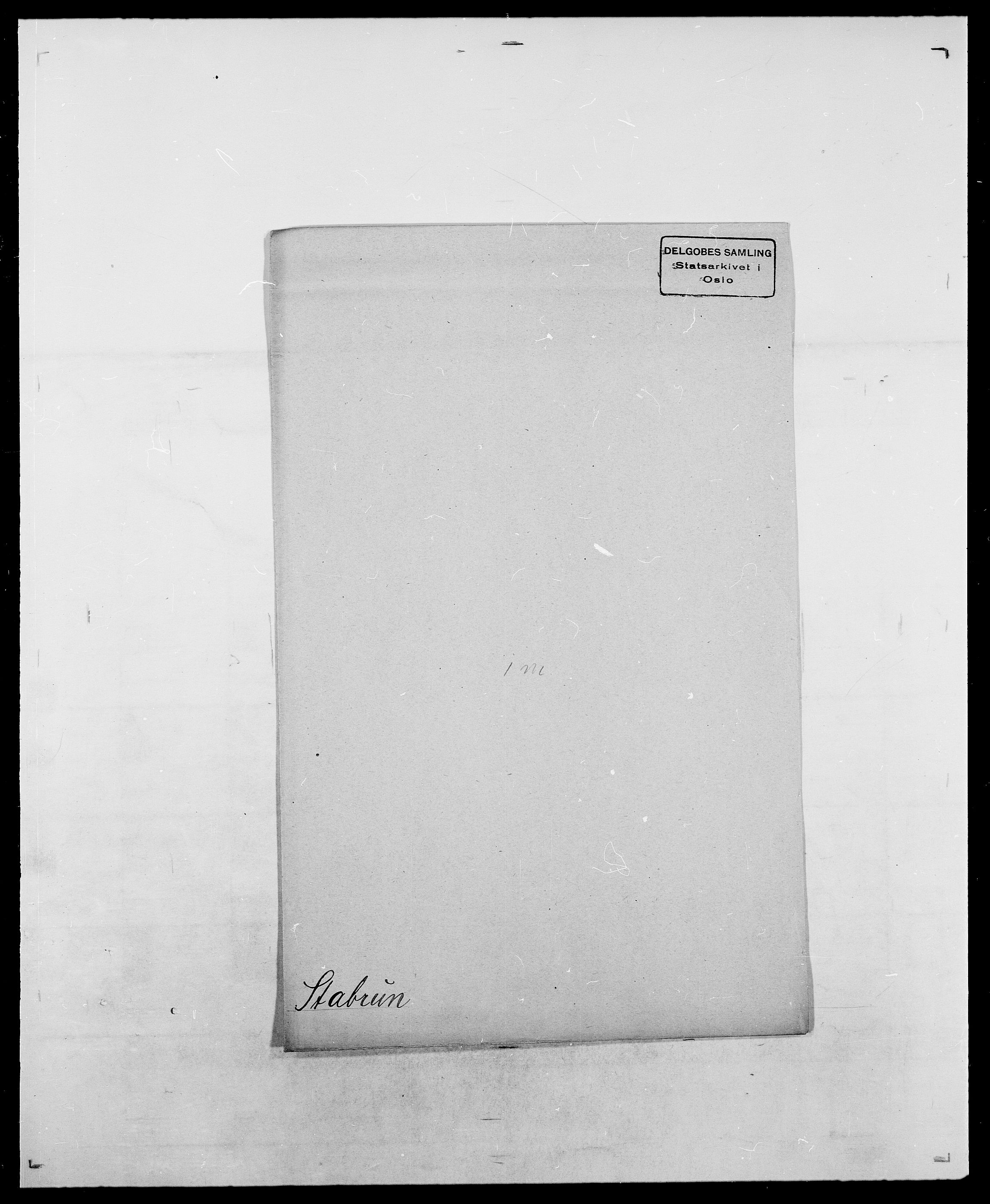 SAO, Delgobe, Charles Antoine - samling, D/Da/L0036: Skaanør - Staverskov, s. 912