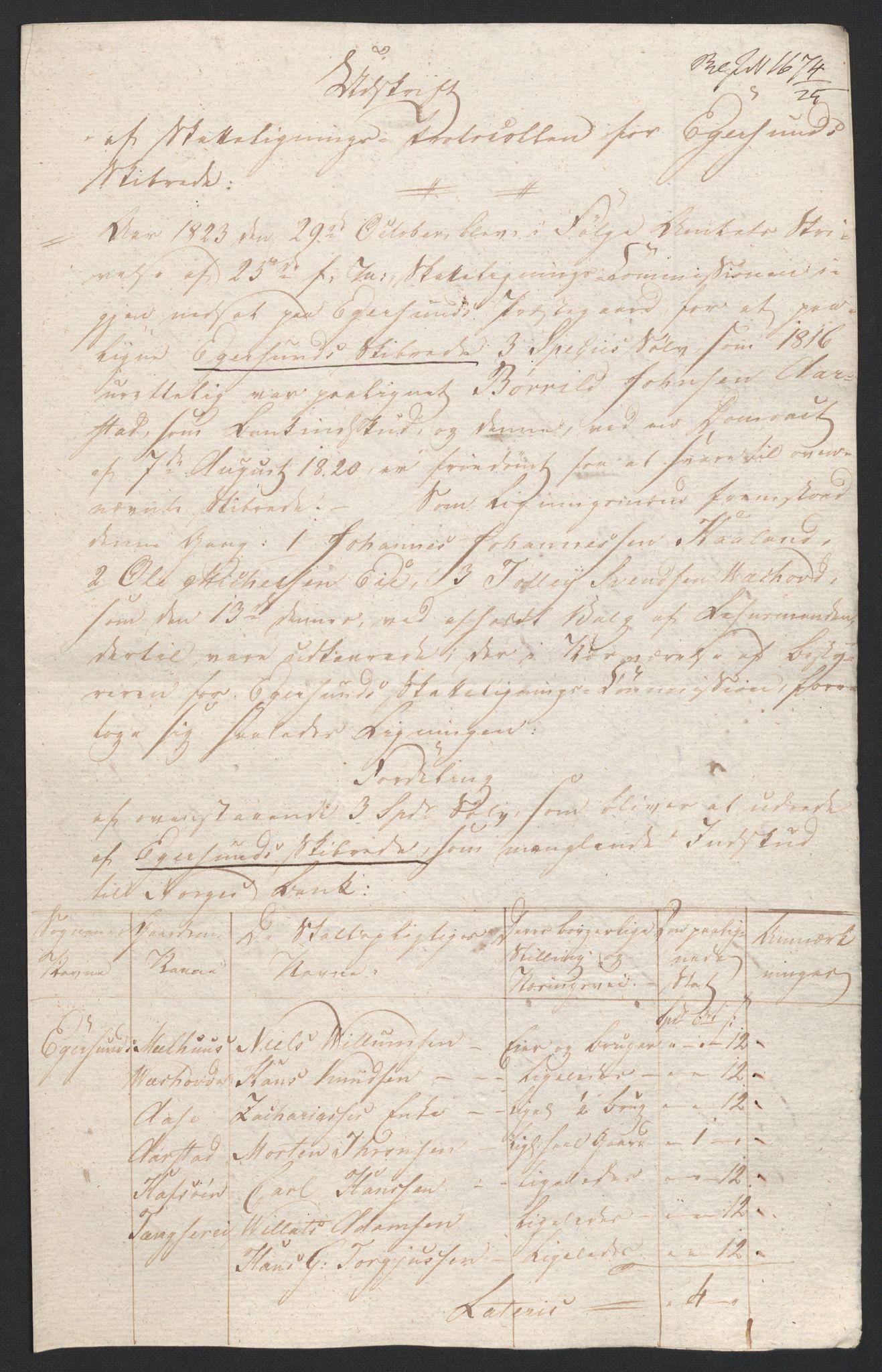 NOBA, Norges Bank/Sølvskatten 1816*, 1816-1825, s. 58