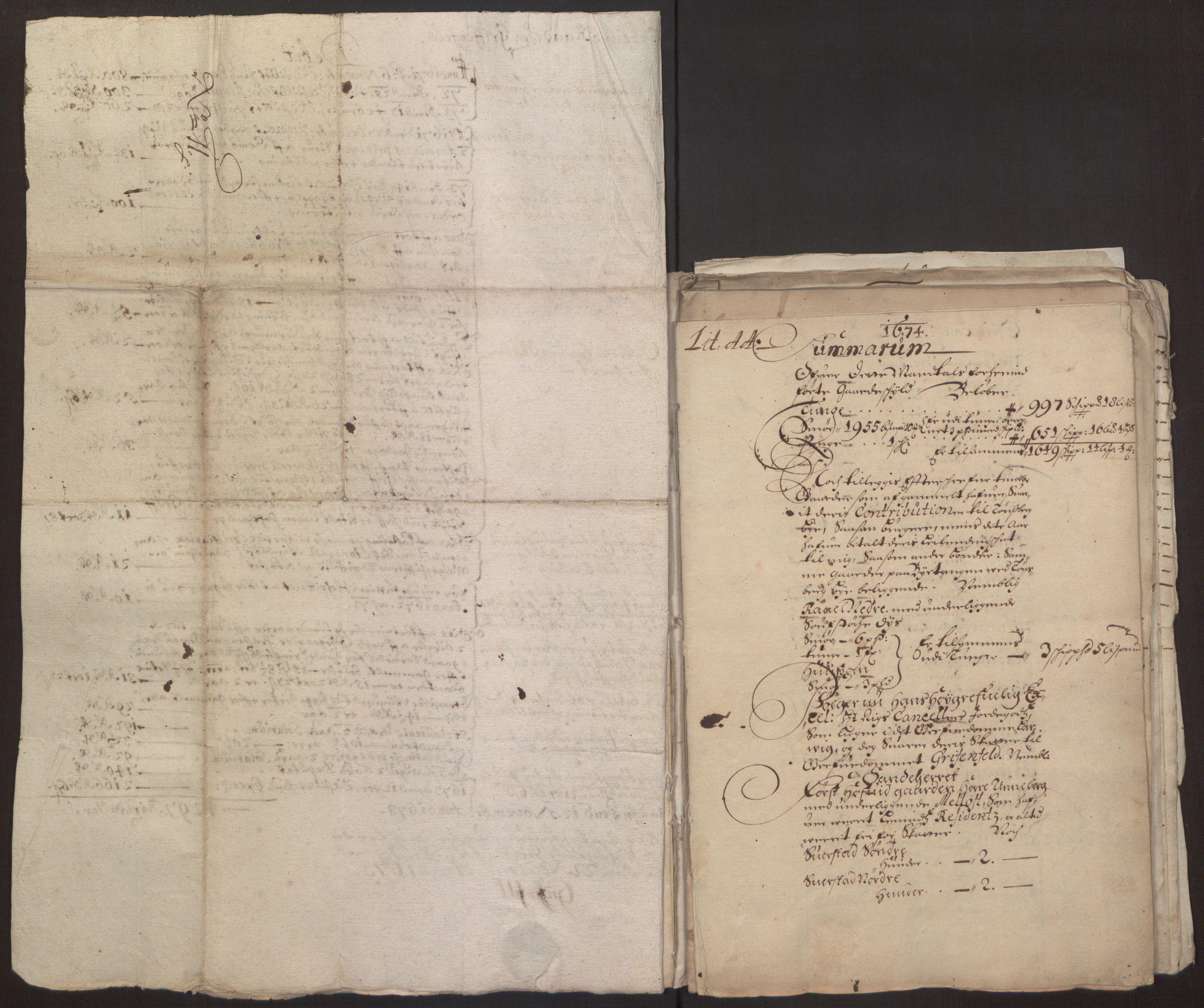 RA, Rentekammeret inntil 1814, Reviderte regnskaper, Fogderegnskap, R32/L1843: Fogderegnskap Jarlsberg grevskap, 1674-1675, s. 37