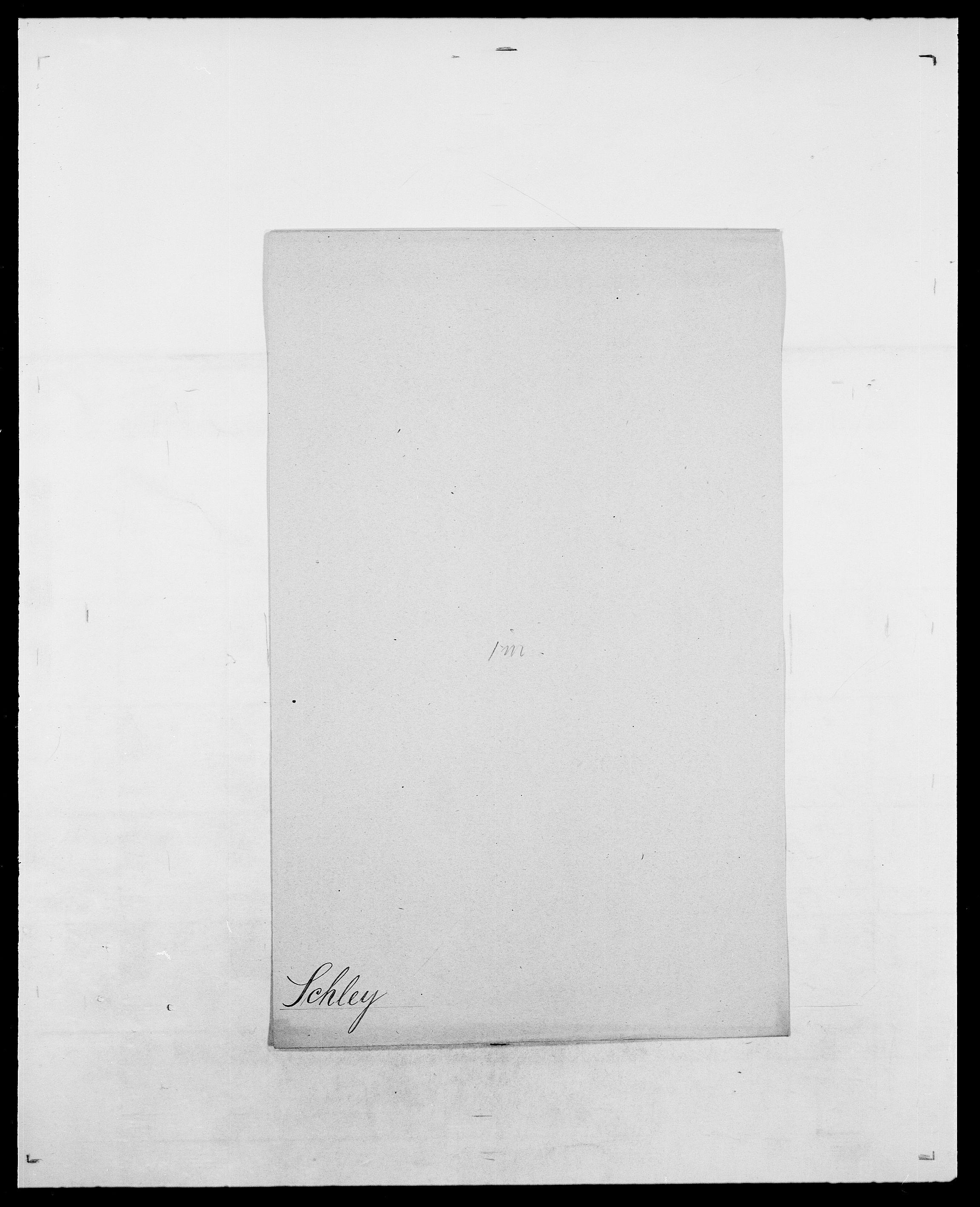 SAO, Delgobe, Charles Antoine - samling, D/Da/L0034: Saabye - Schmincke, s. 816