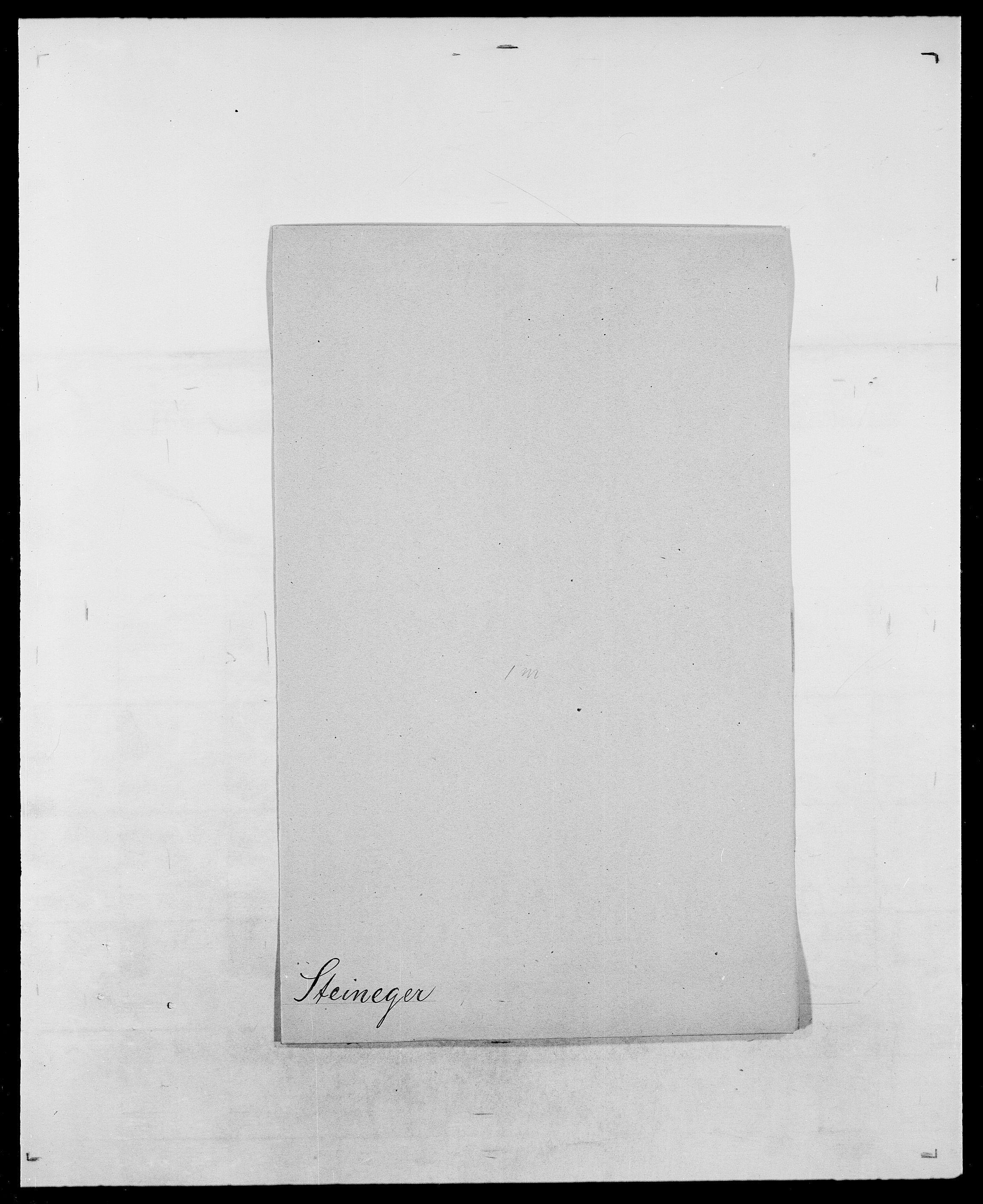 SAO, Delgobe, Charles Antoine - samling, D/Da/L0037: Steen, Sthen, Stein - Svare, Svanige, Svanne, se også Svanning og Schwane, s. 258