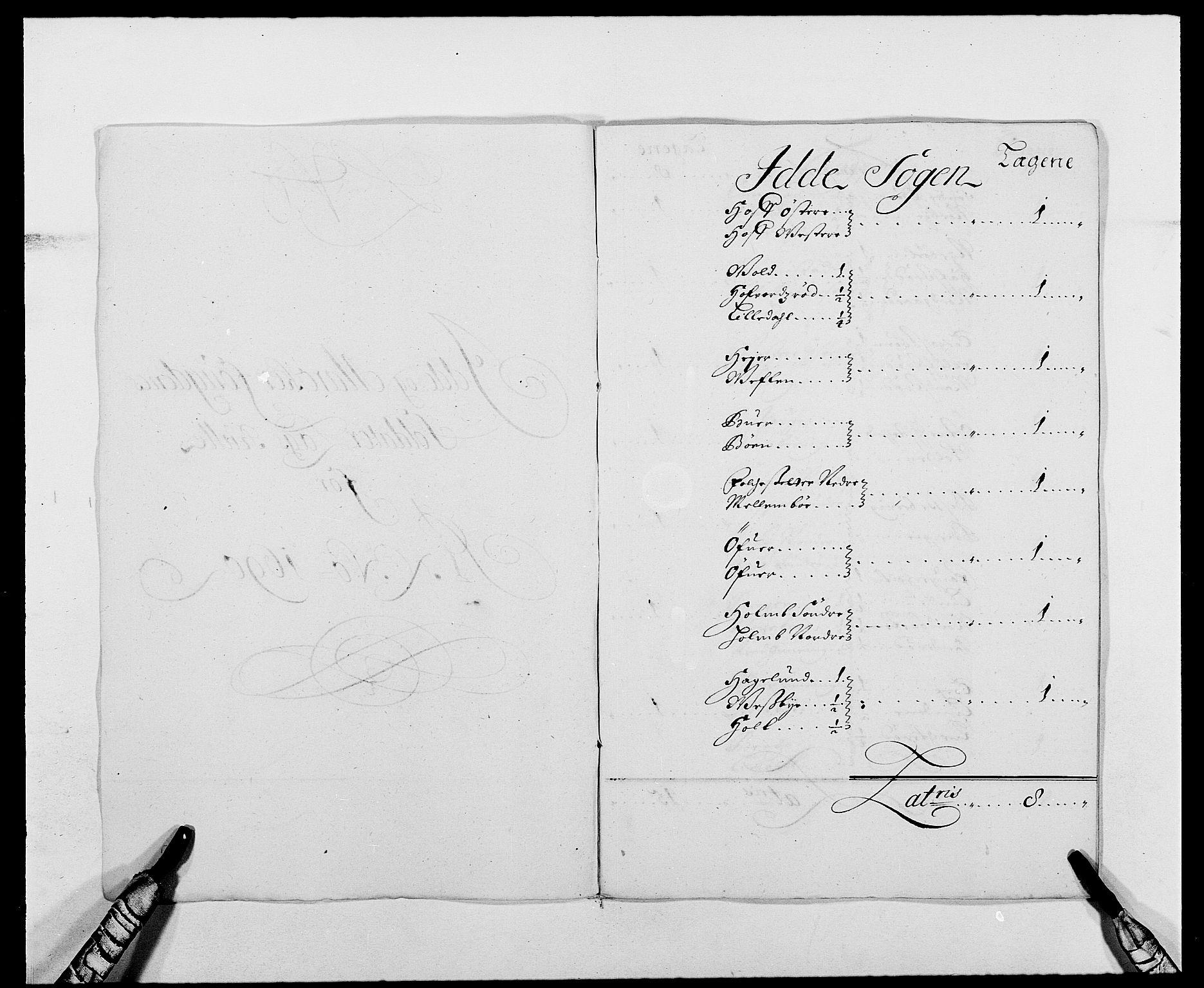 RA, Rentekammeret inntil 1814, Reviderte regnskaper, Fogderegnskap, R01/L0010: Fogderegnskap Idd og Marker, 1690-1691, s. 248