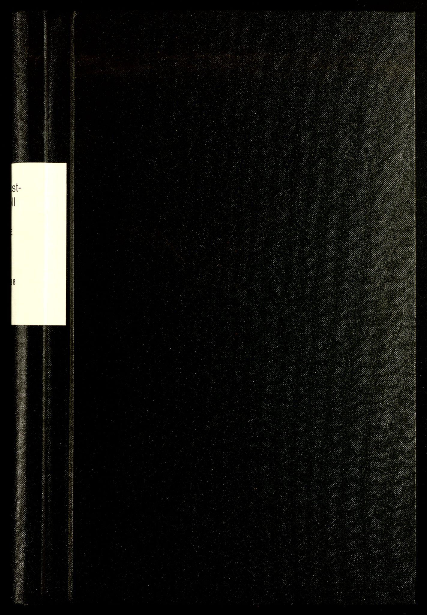 SAH, Norges Brannkasse, Grue, F/L0002: Branntakstprotokoll, 1863-1868