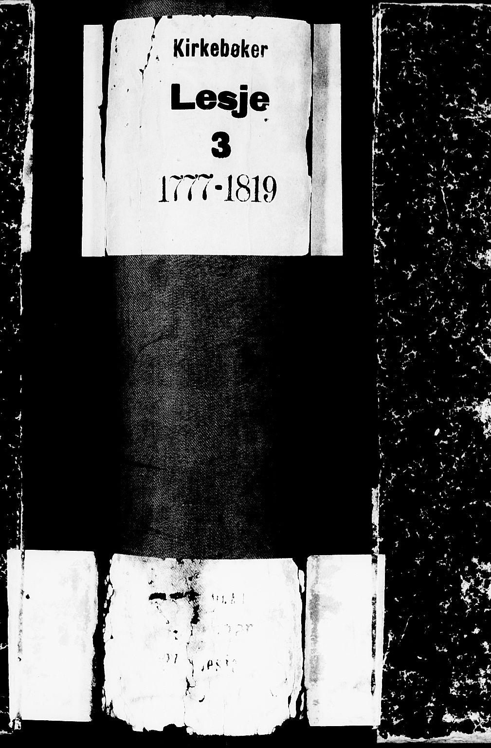 SAH, Lesja prestekontor, Ministerialbok nr. 3, 1777-1819