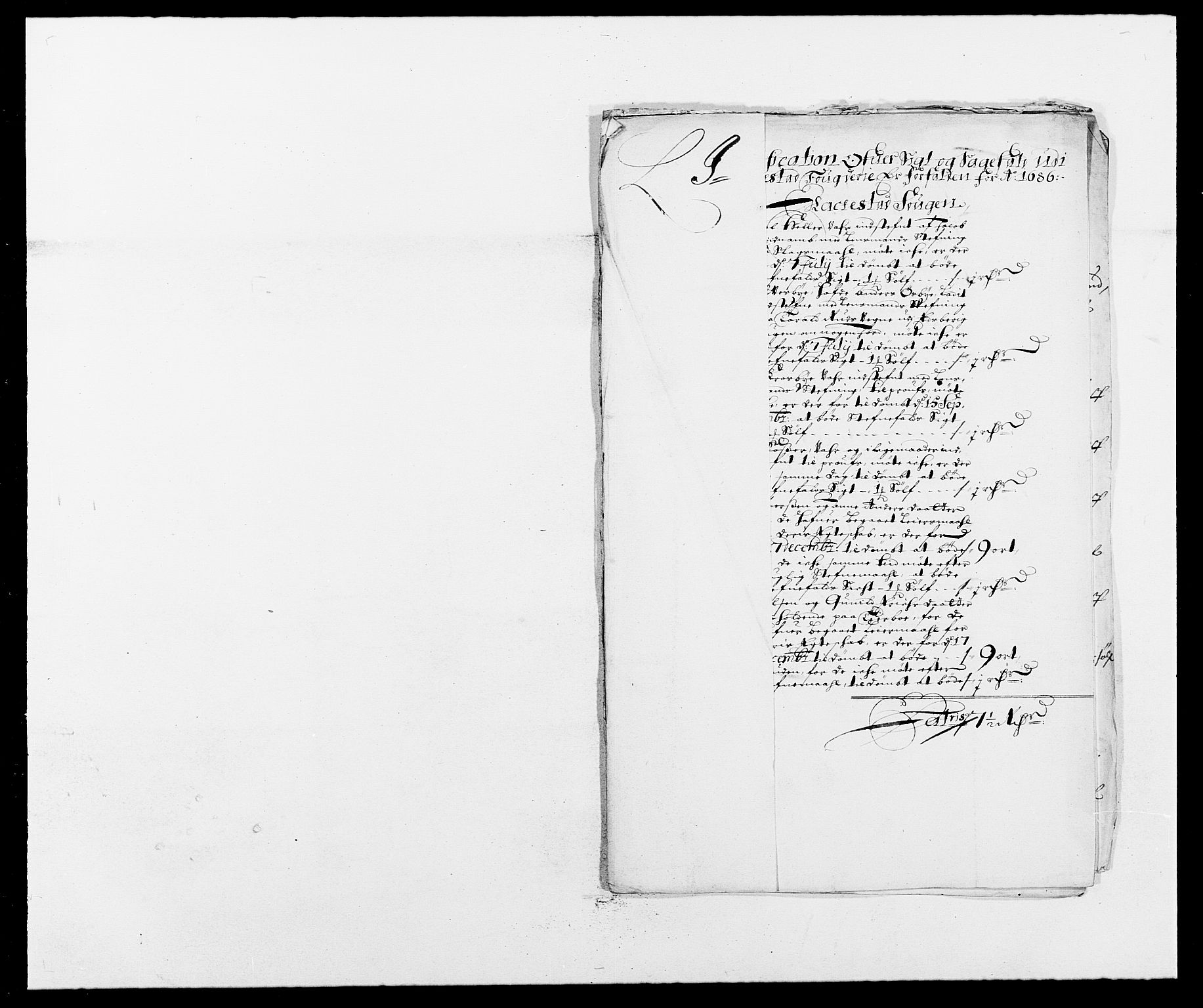 RA, Rentekammeret inntil 1814, Reviderte regnskaper, Fogderegnskap, R05/L0275: Fogderegnskap Rakkestad, 1685-1686, s. 182