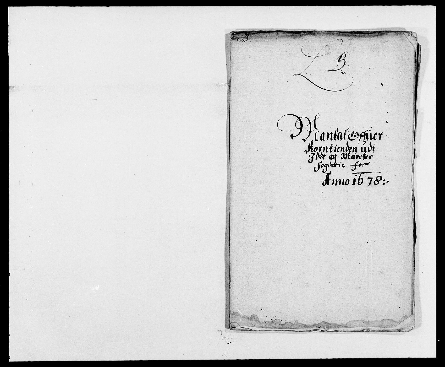 RA, Rentekammeret inntil 1814, Reviderte regnskaper, Fogderegnskap, R01/L0001: Fogderegnskap Idd og Marker, 1678-1679, s. 49