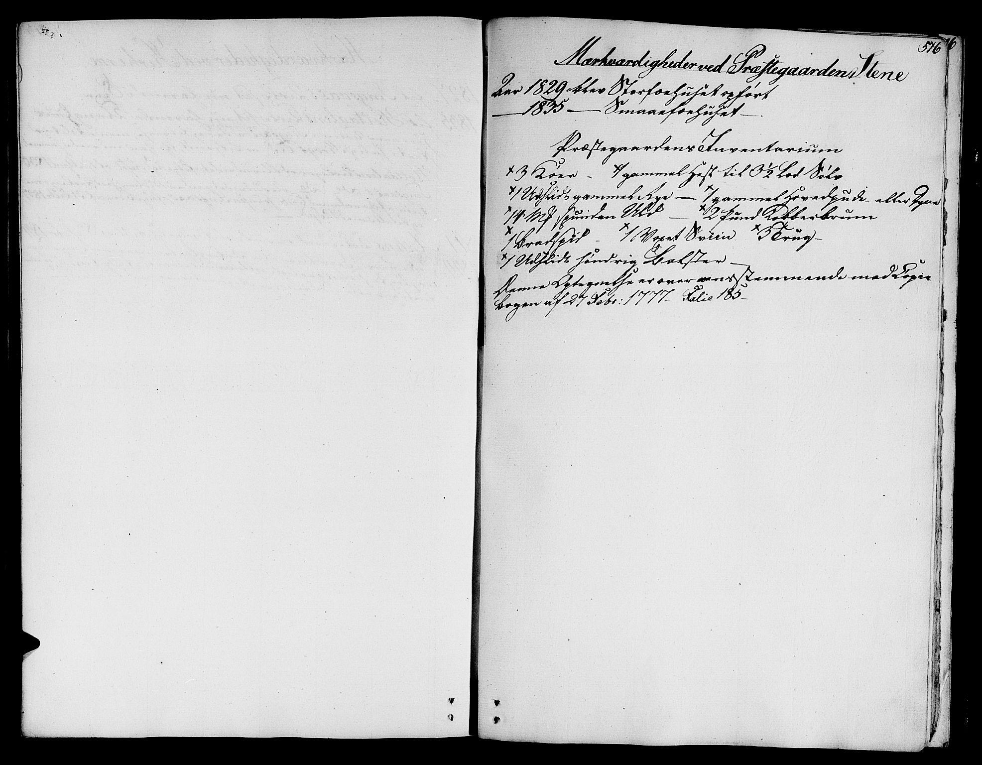 SAT, Ministerialprotokoller, klokkerbøker og fødselsregistre - Sør-Trøndelag, 685/L0960: Ministerialbok nr. 685A05 /1, 1829-1845, s. 516