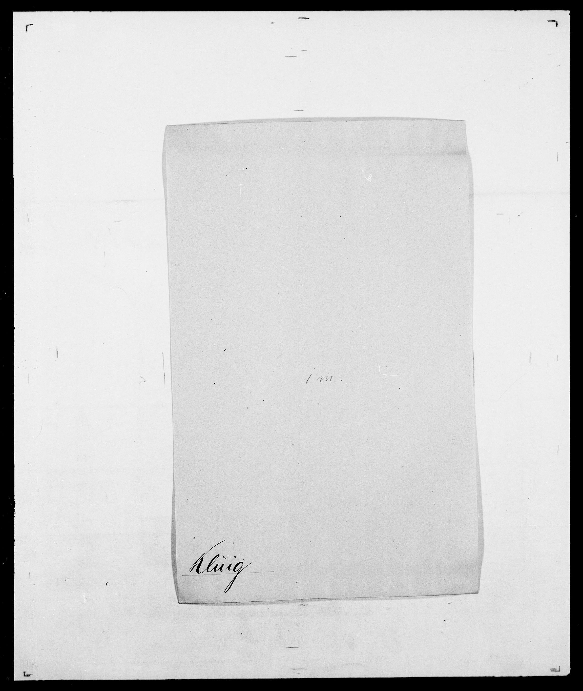 SAO, Delgobe, Charles Antoine - samling, D/Da/L0021: Klagenberg - Kristoft, s. 166