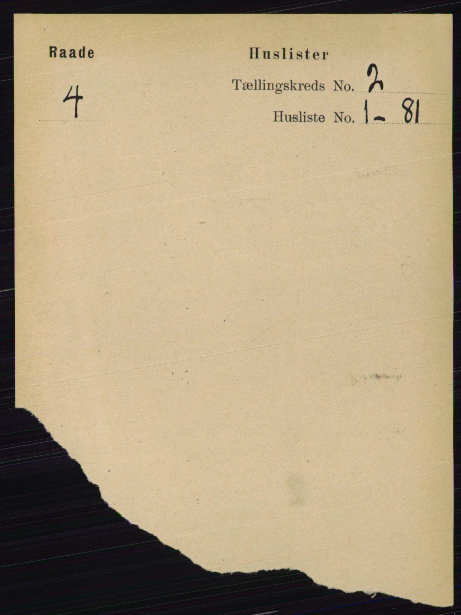 RA, Folketelling 1891 for 0135 Råde herred, 1891, s. 529