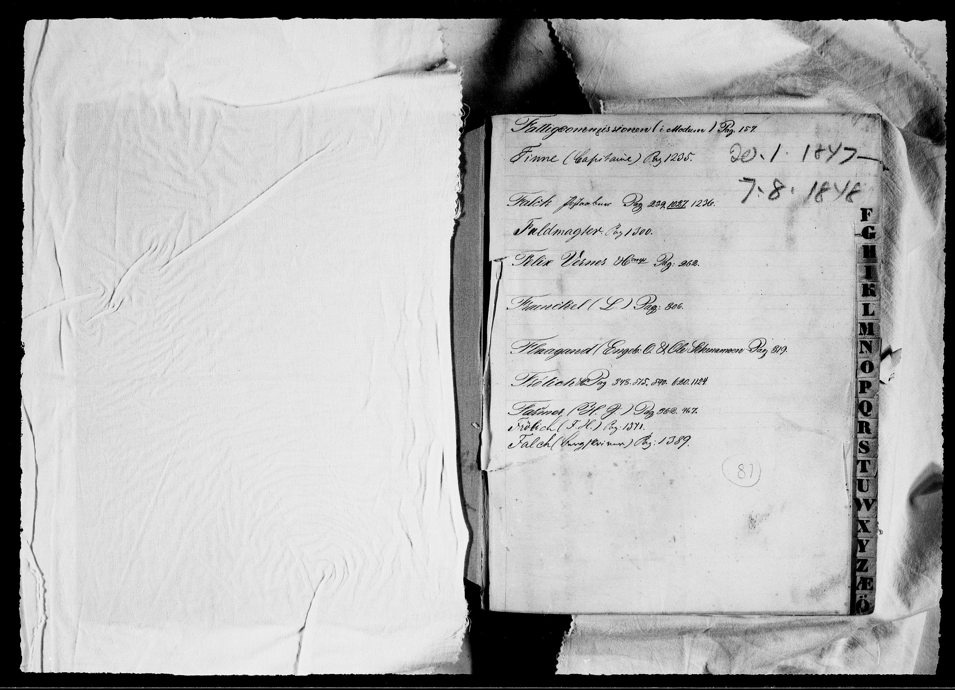 RA, Modums Blaafarveværk, G/Gb/L0081, 1847-1848, s. 2