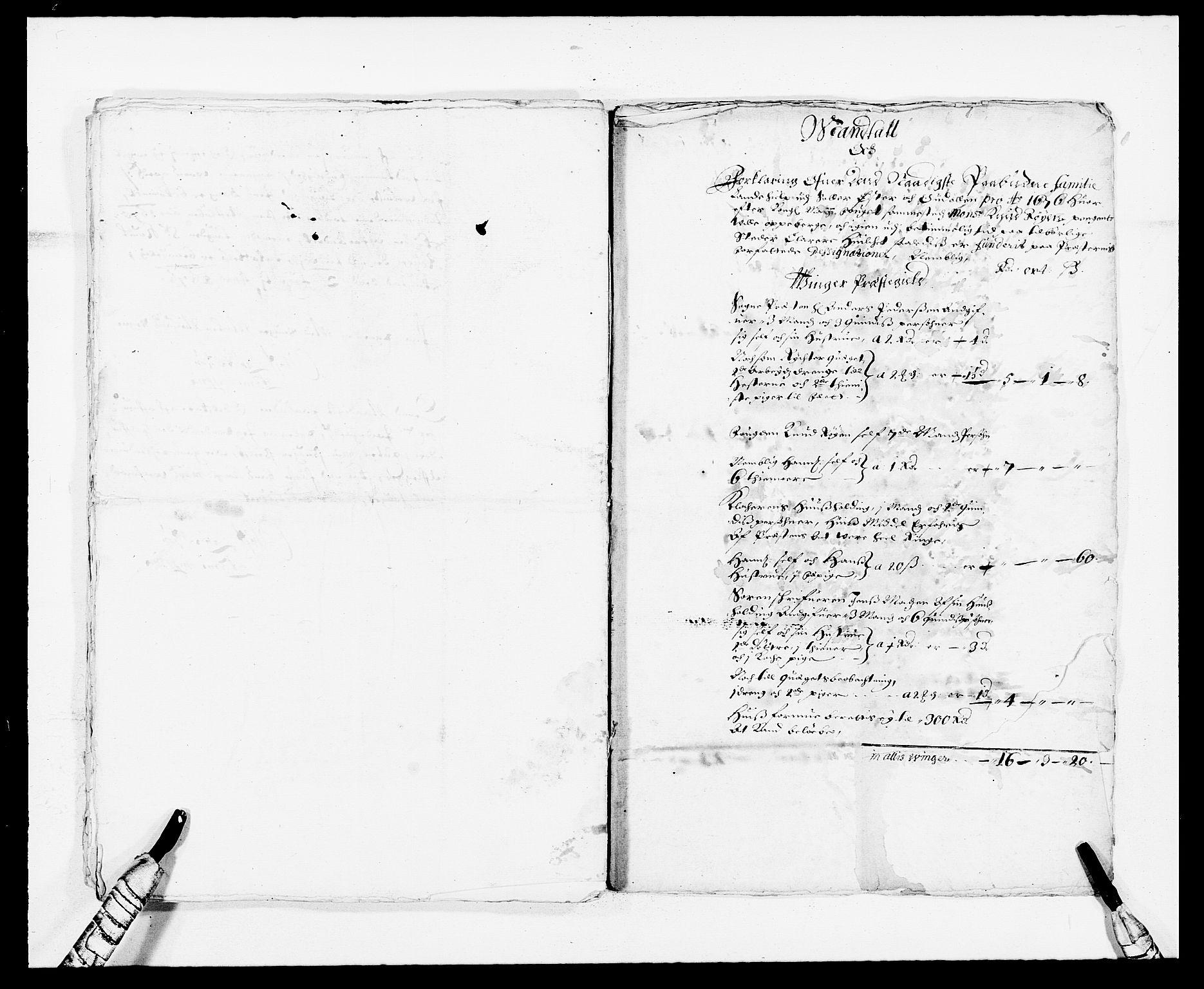RA, Rentekammeret inntil 1814, Reviderte regnskaper, Fogderegnskap, R13/L0812: Fogderegnskap Solør, Odal og Østerdal, 1676, s. 214