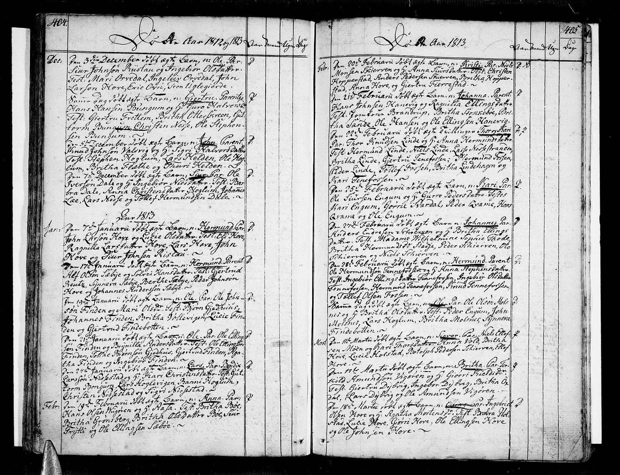 SAB, Vik Sokneprestembete, Ministerialbok nr. A 5, 1787-1820, s. 404-405