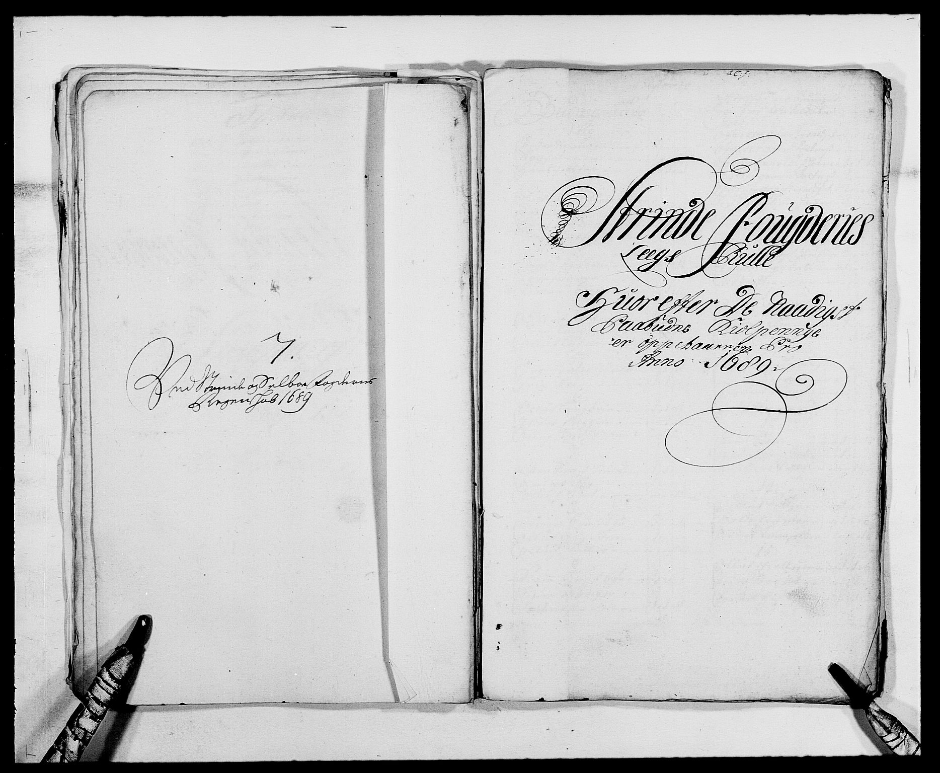 RA, Rentekammeret inntil 1814, Reviderte regnskaper, Fogderegnskap, R61/L4102: Fogderegnskap Strinda og Selbu, 1689-1690, s. 48