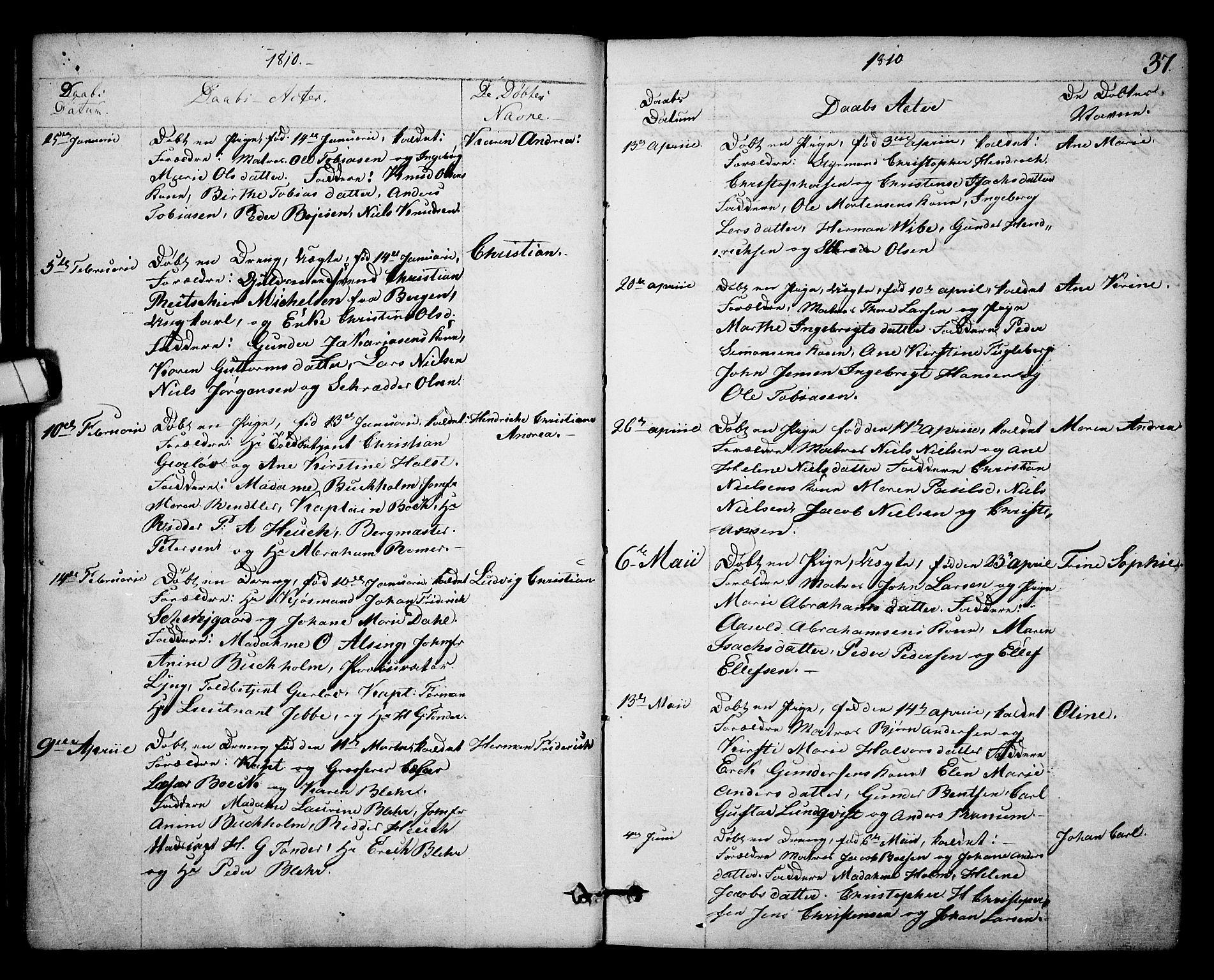 SAKO, Kragerø kirkebøker, F/Fa/L0003: Ministerialbok nr. 3, 1802-1813, s. 37