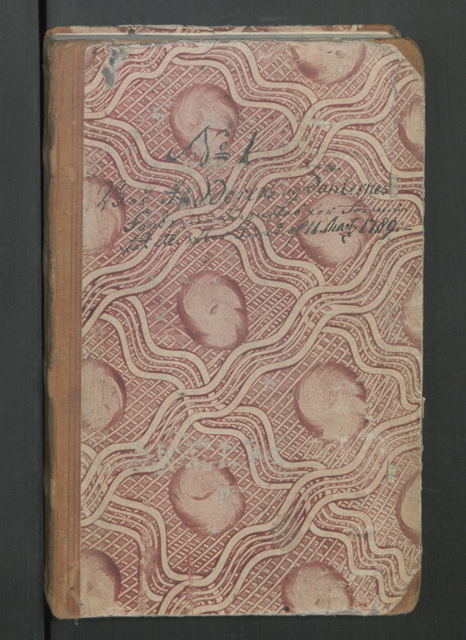 RA, Rentekammeret inntil 1814, Reviderte regnskaper, Mindre regnskaper, Rf/Rfe/L0019: Jæren og Dalane fogderi, Kongsberg, 1789, s. 3