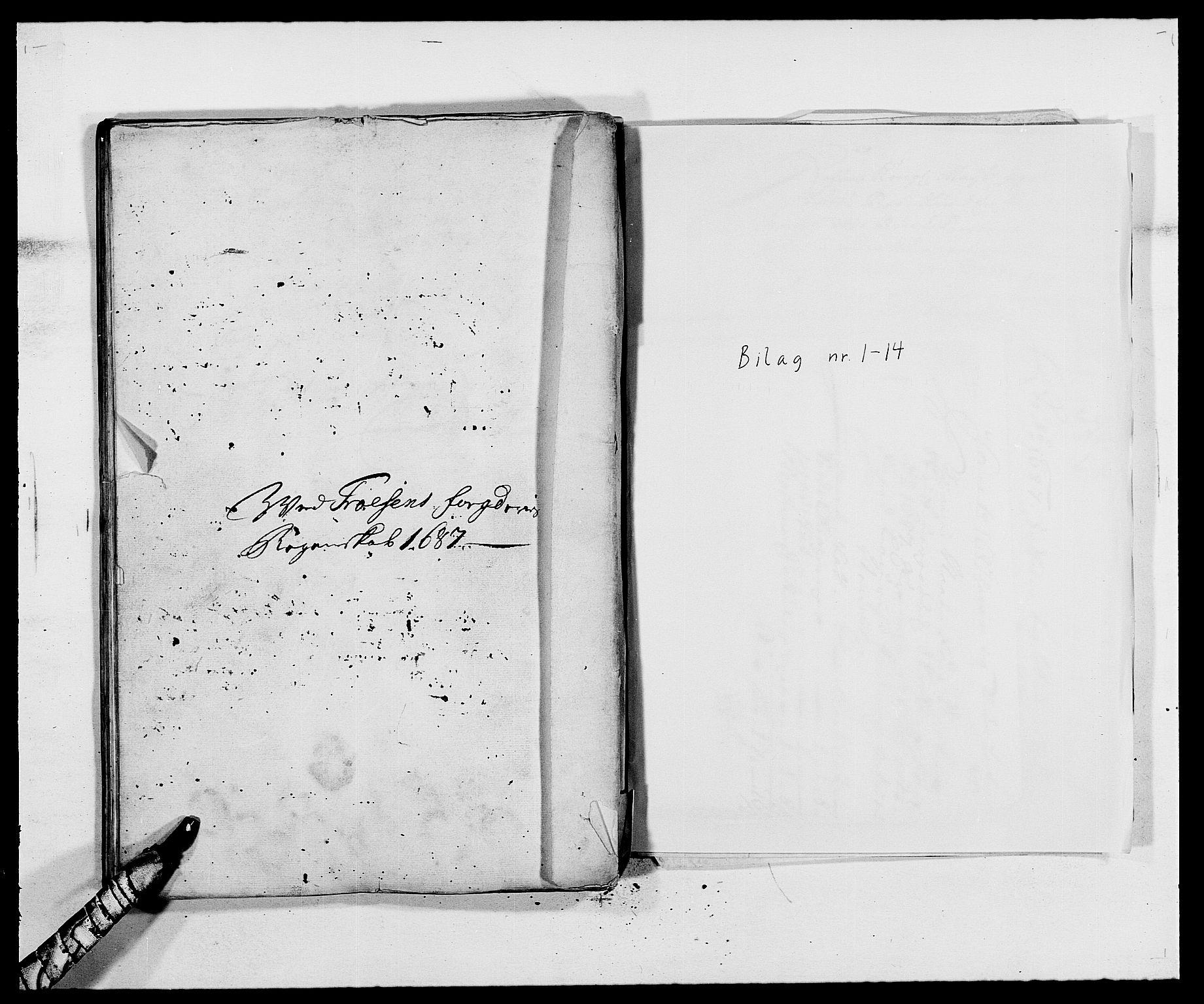 RA, Rentekammeret inntil 1814, Reviderte regnskaper, Fogderegnskap, R57/L3845: Fogderegnskap Fosen, 1687, s. 202