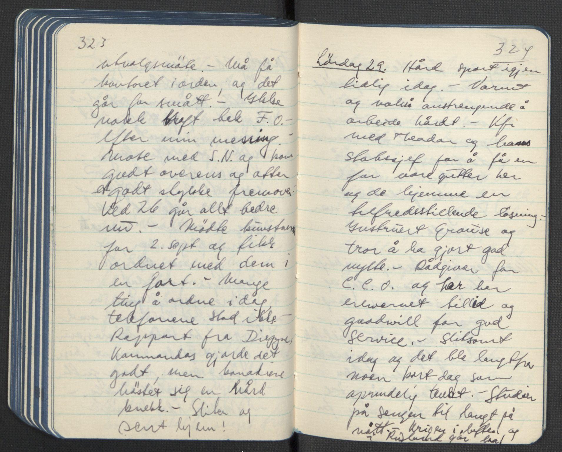 RA, Tronstad, Leif, F/L0001: Dagbøker, 1941-1945, s. 246