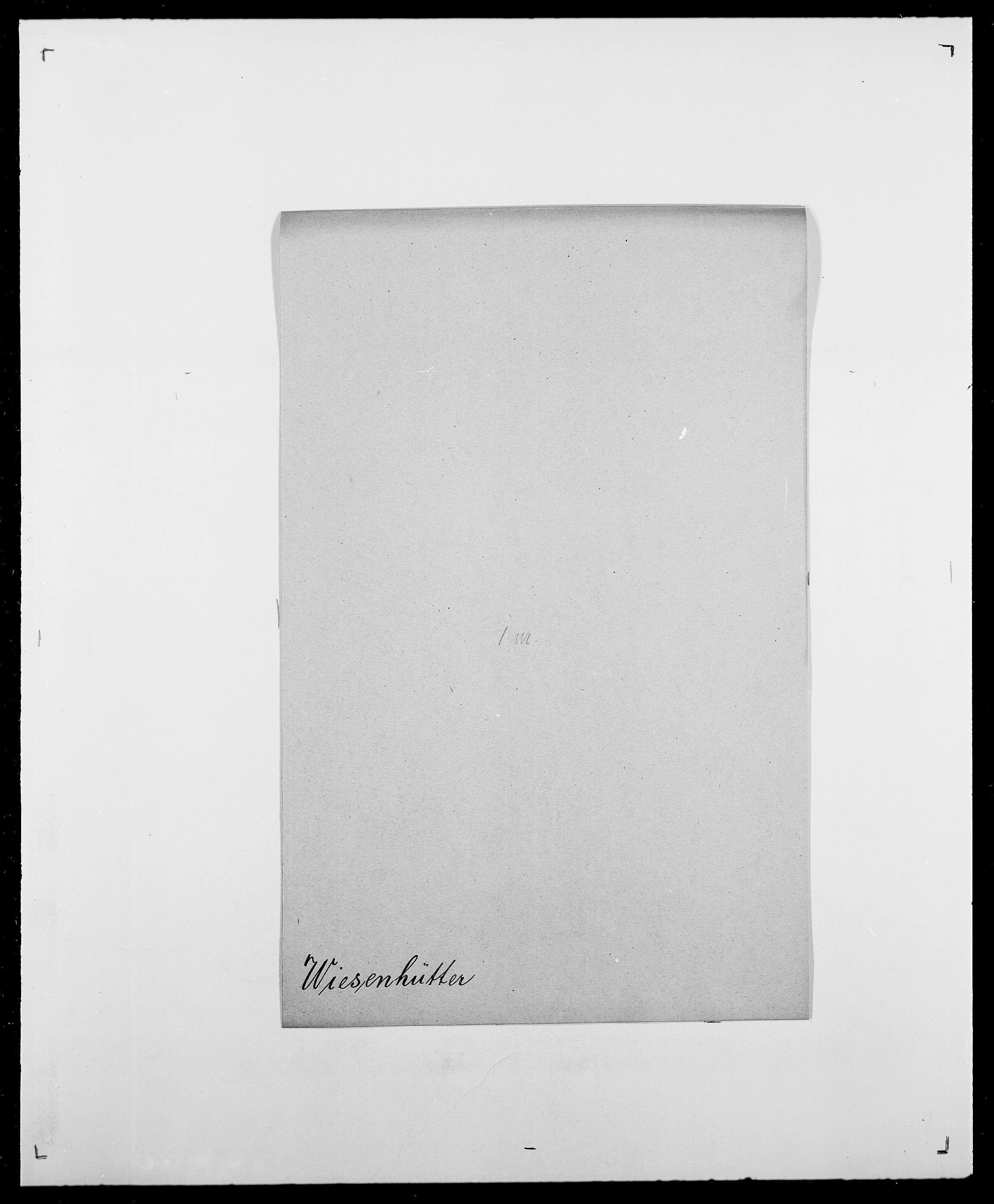 SAO, Delgobe, Charles Antoine - samling, D/Da/L0041: Vemmestad - Viker, s. 660