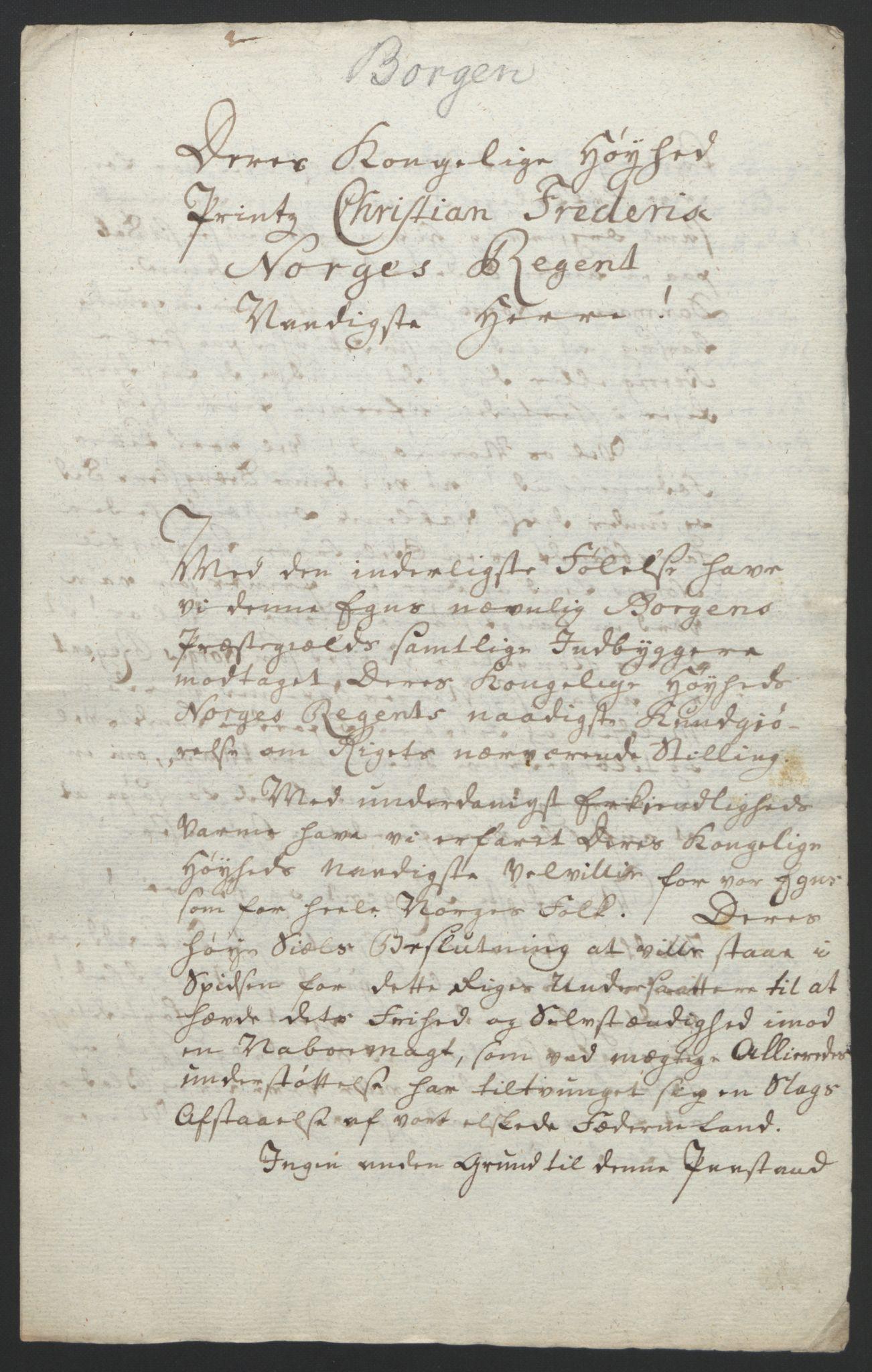 RA, Statsrådssekretariatet, D/Db/L0008: Fullmakter for Eidsvollsrepresentantene i 1814. , 1814, s. 363